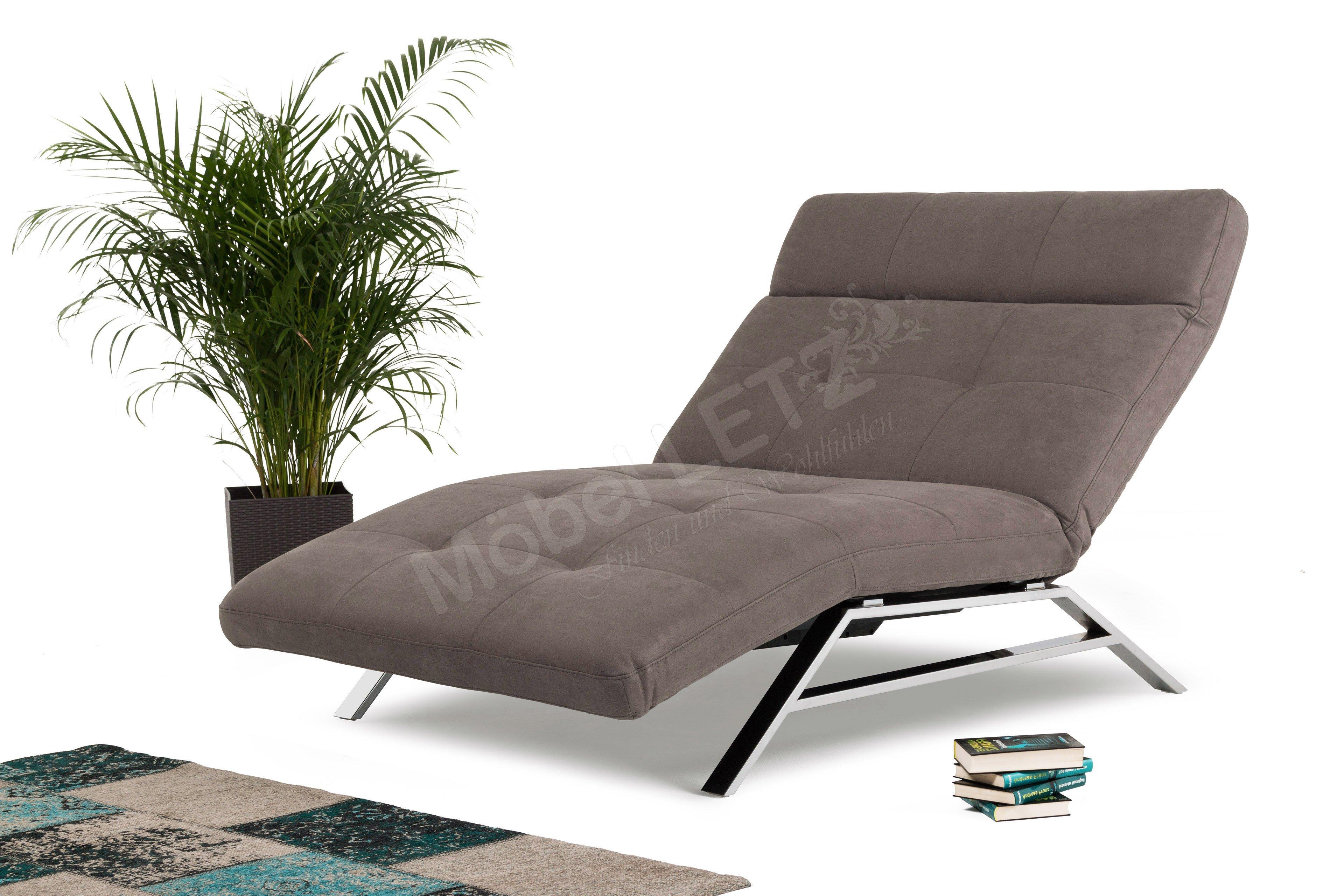 candy polsterm bel riviera liege grau braun m bel letz. Black Bedroom Furniture Sets. Home Design Ideas