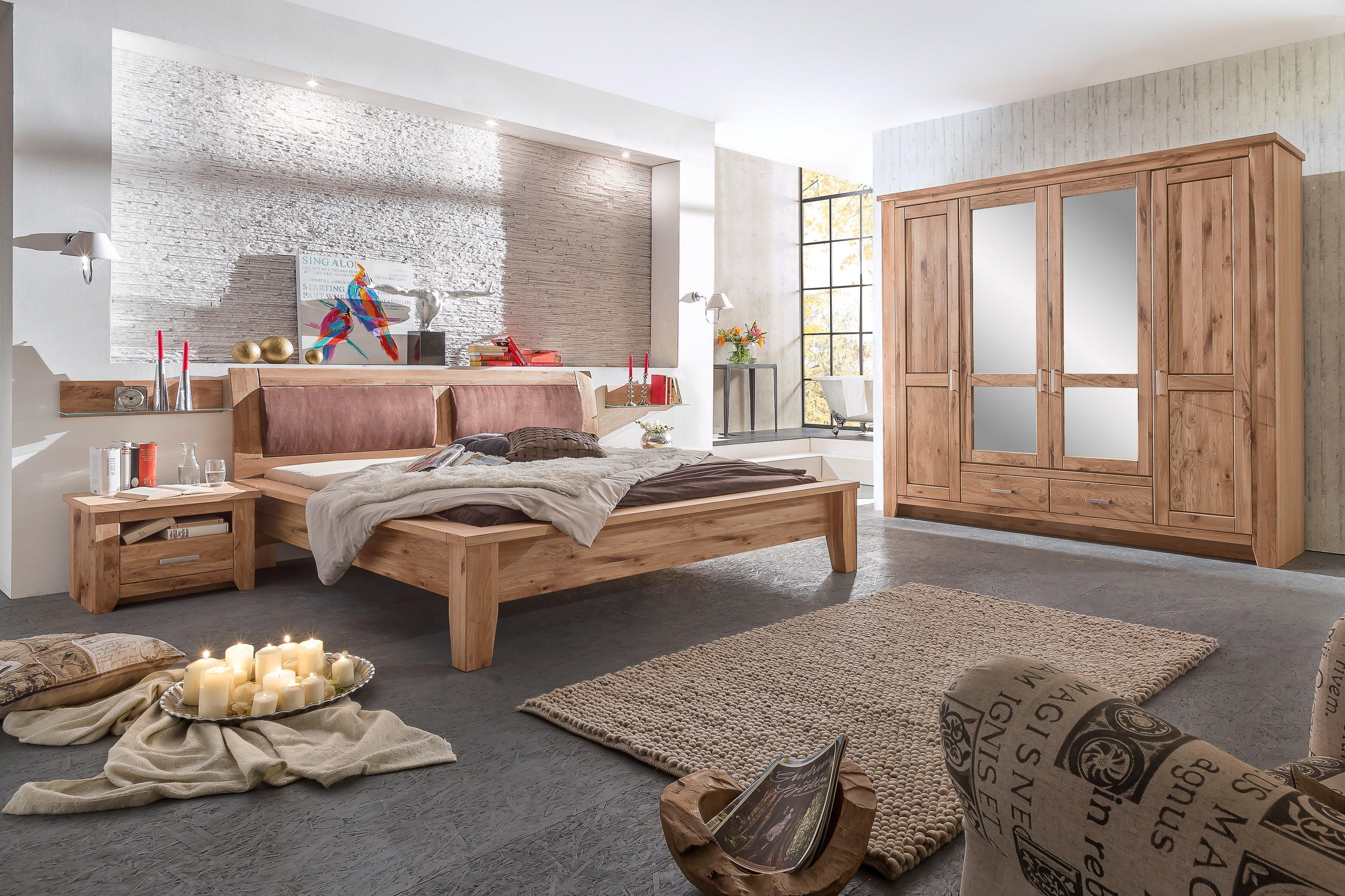 Telmex Toronto Schlafzimmer-Set Asteiche | Möbel Letz - Ihr Online-Shop