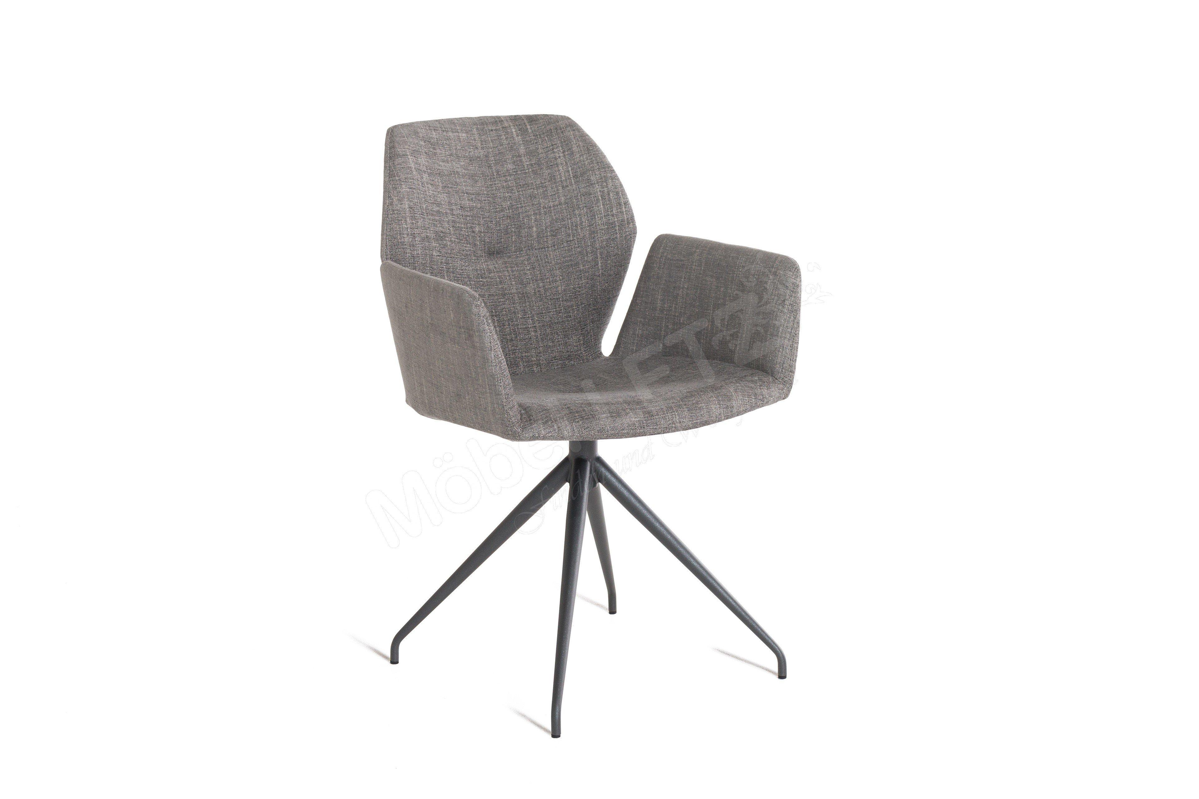 mobitec stuhl mood 95 uni grey m bel letz ihr online shop. Black Bedroom Furniture Sets. Home Design Ideas