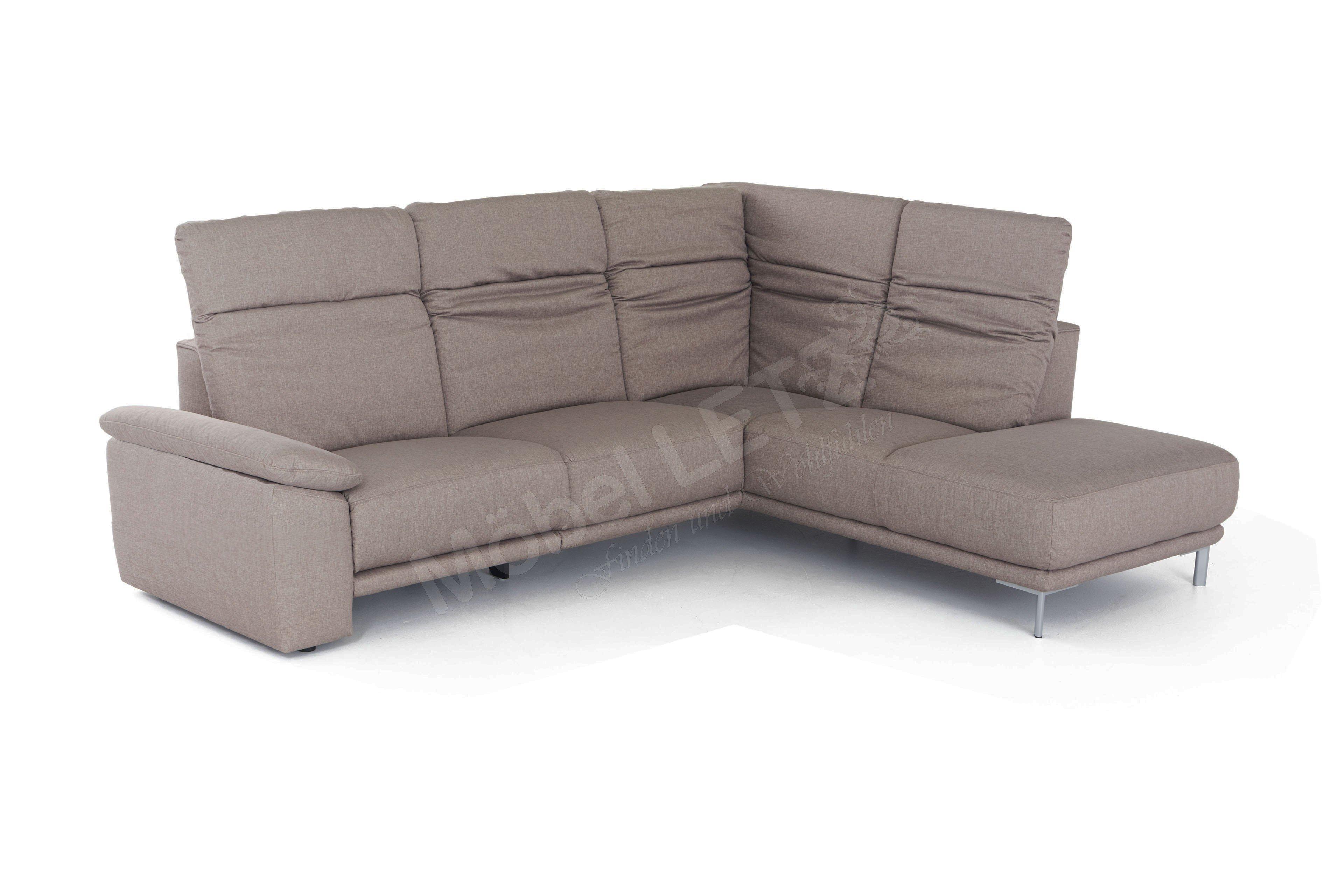 gruber polsterm bel roma polstergarnitur in braun m bel letz ihr online shop. Black Bedroom Furniture Sets. Home Design Ideas