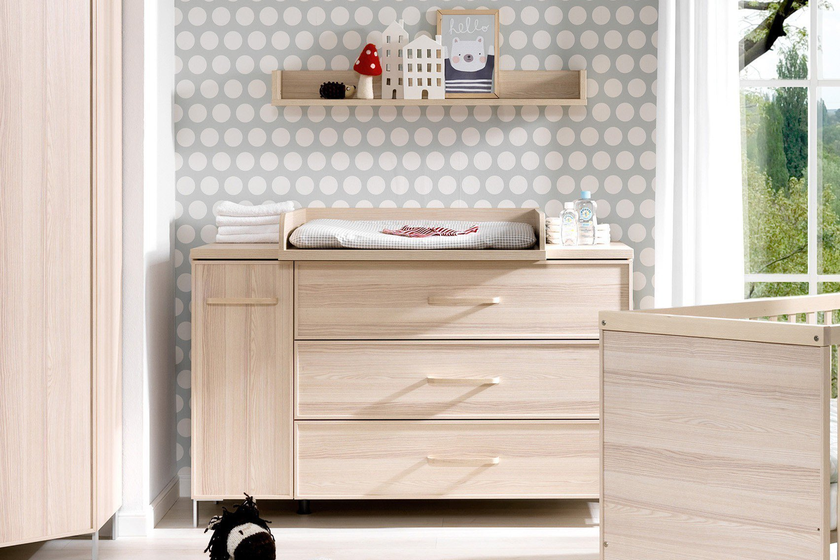 welle enie wickelkommode esche coimbra m bel letz ihr online shop. Black Bedroom Furniture Sets. Home Design Ideas