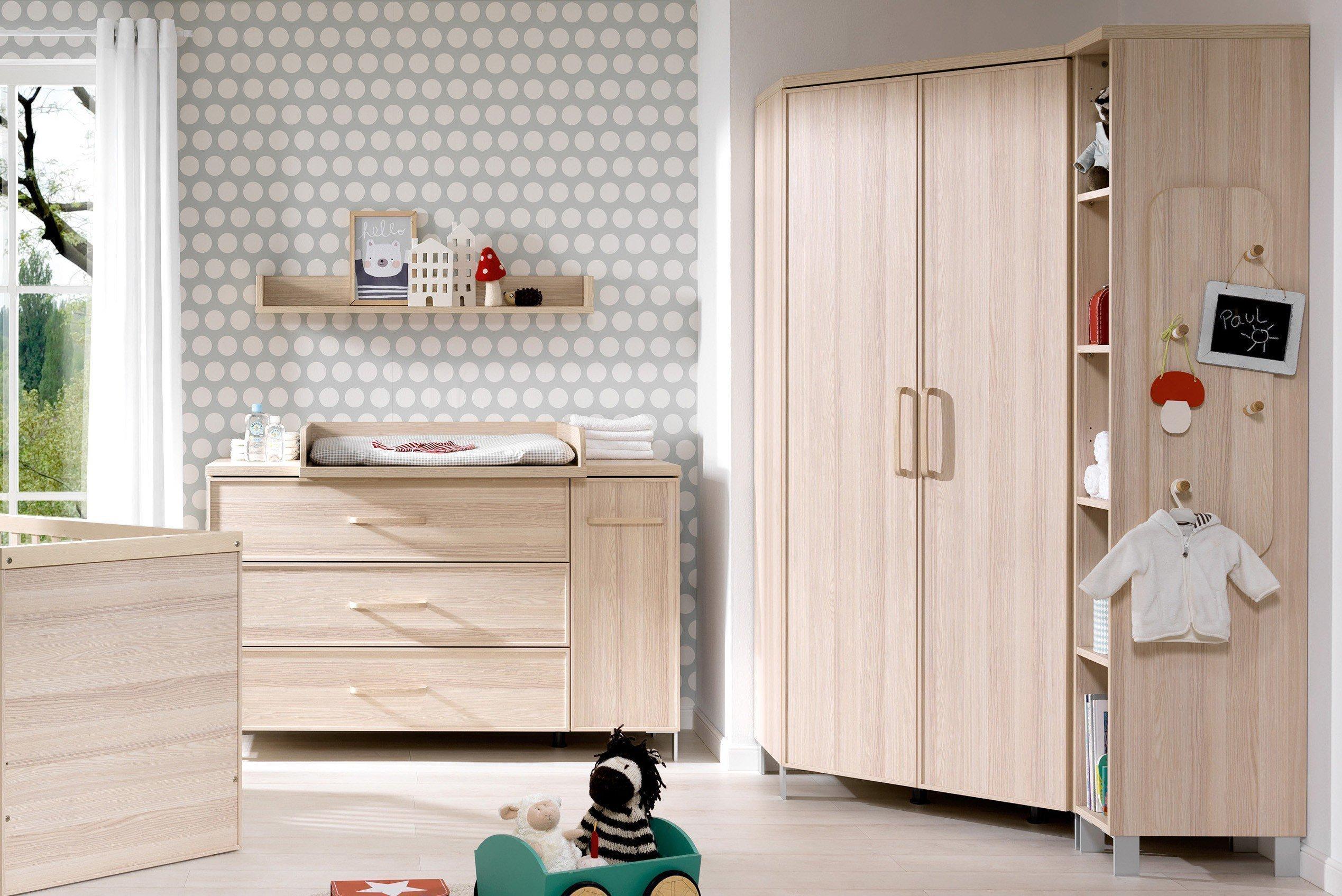Welle Enie Eckschrank für Babyzimmer | Möbel Letz - Ihr Online-Shop