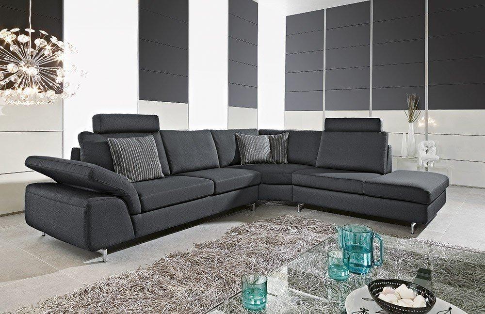 Finest Joyzze Von Willi Schillig Ecksofa Schwarz With Couch W Schillig With  Couch Schwarz