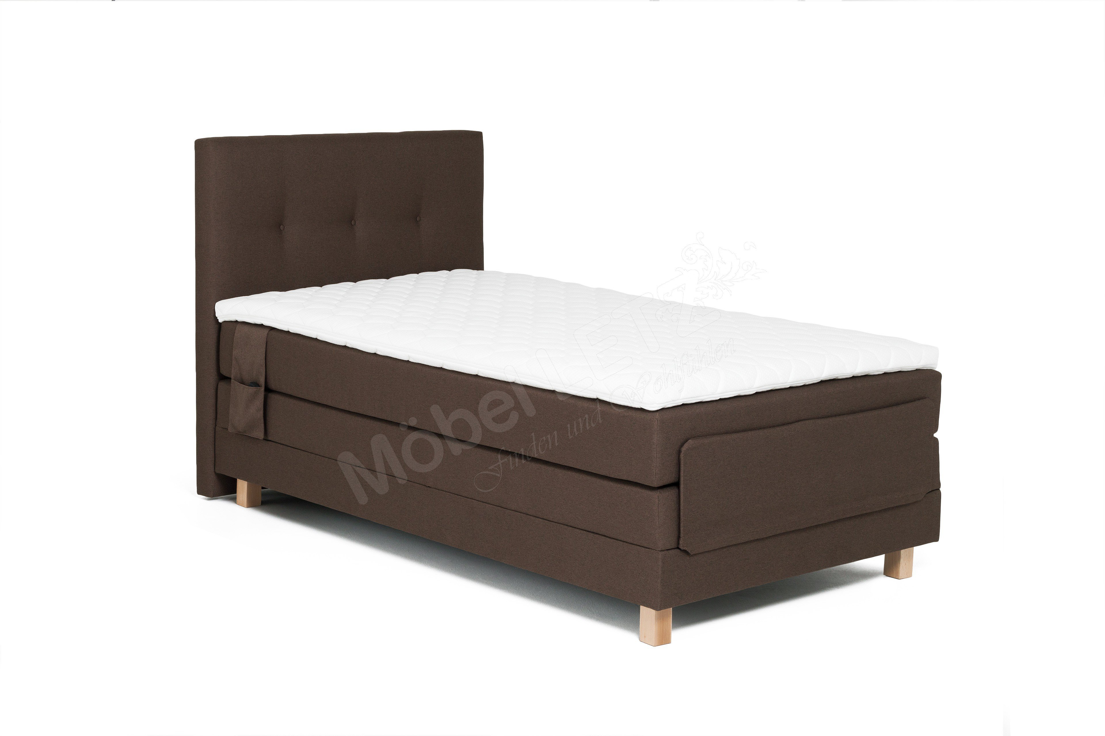 skandinavische m bel boxspringbett jensen mit motor m bel letz ihr online shop. Black Bedroom Furniture Sets. Home Design Ideas