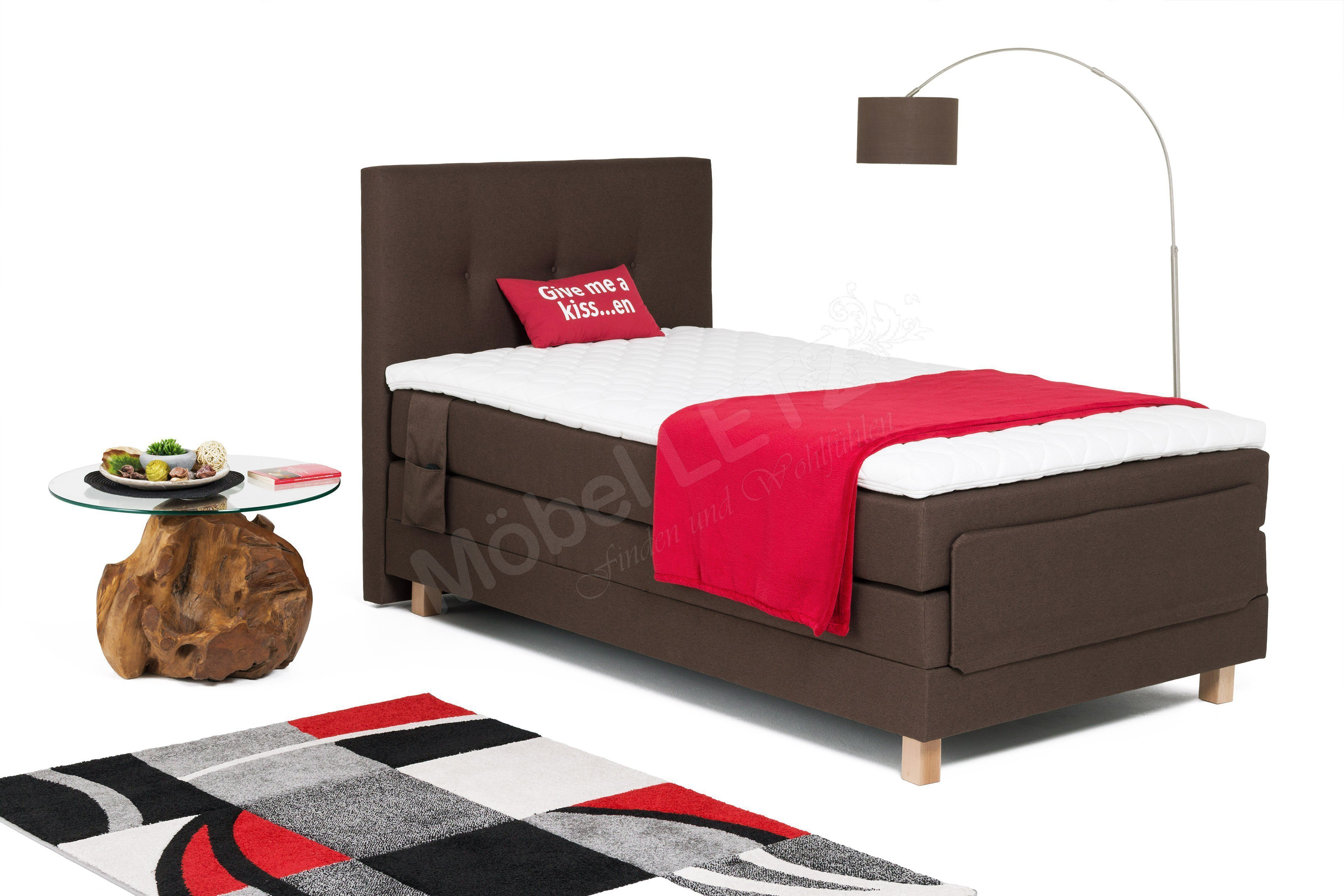 boxspringbett jensen von skandinavische m bel mit 3 motoren m bel letz ihr online shop. Black Bedroom Furniture Sets. Home Design Ideas