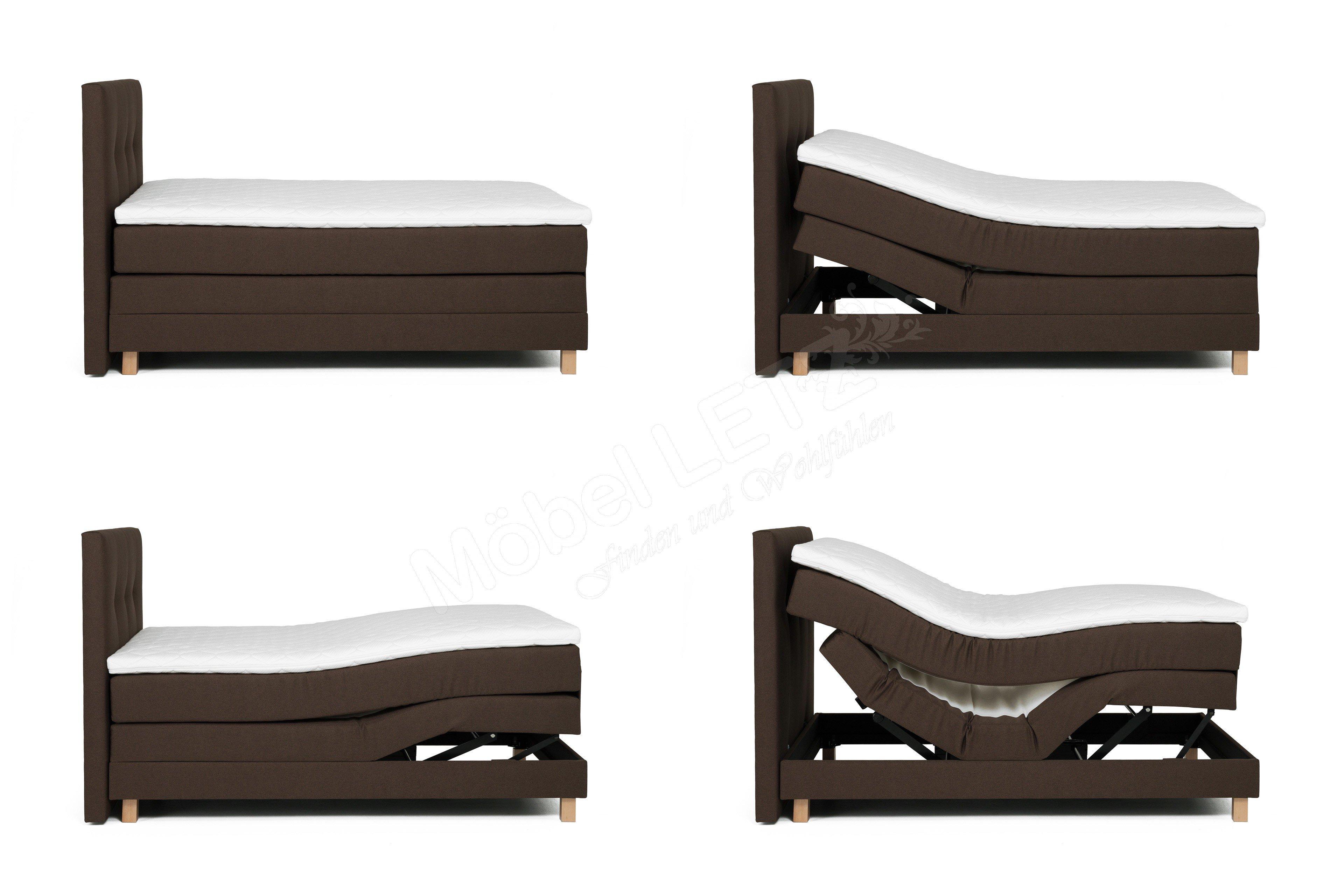 boxspringbett jensen von skandinavische m bel mit 3 motoren m bel letz ihr online shop. Black Bedroom Furniture Sets. Home Design Ideas