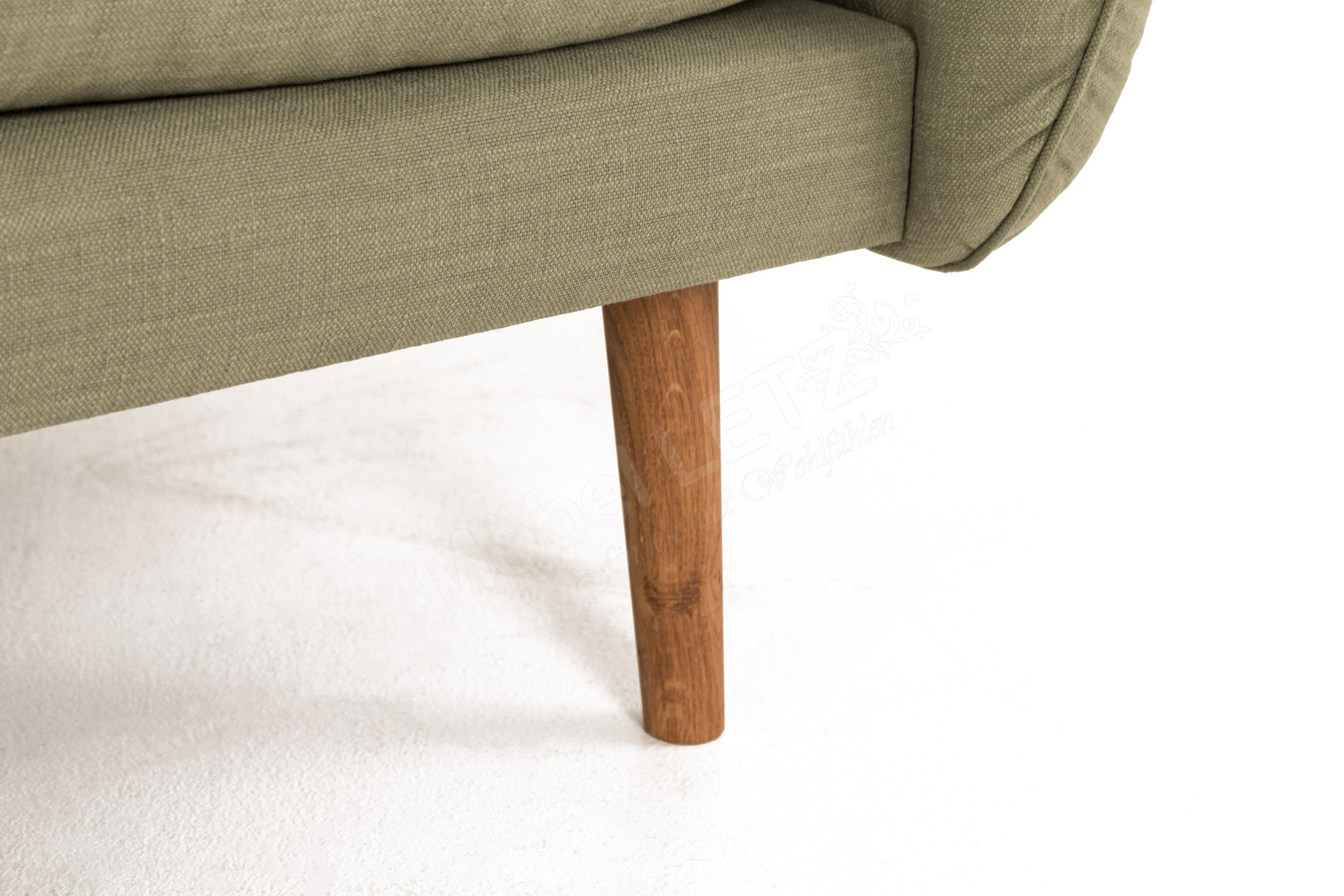 skandinavische m bel sander sofa in gr n m bel letz. Black Bedroom Furniture Sets. Home Design Ideas