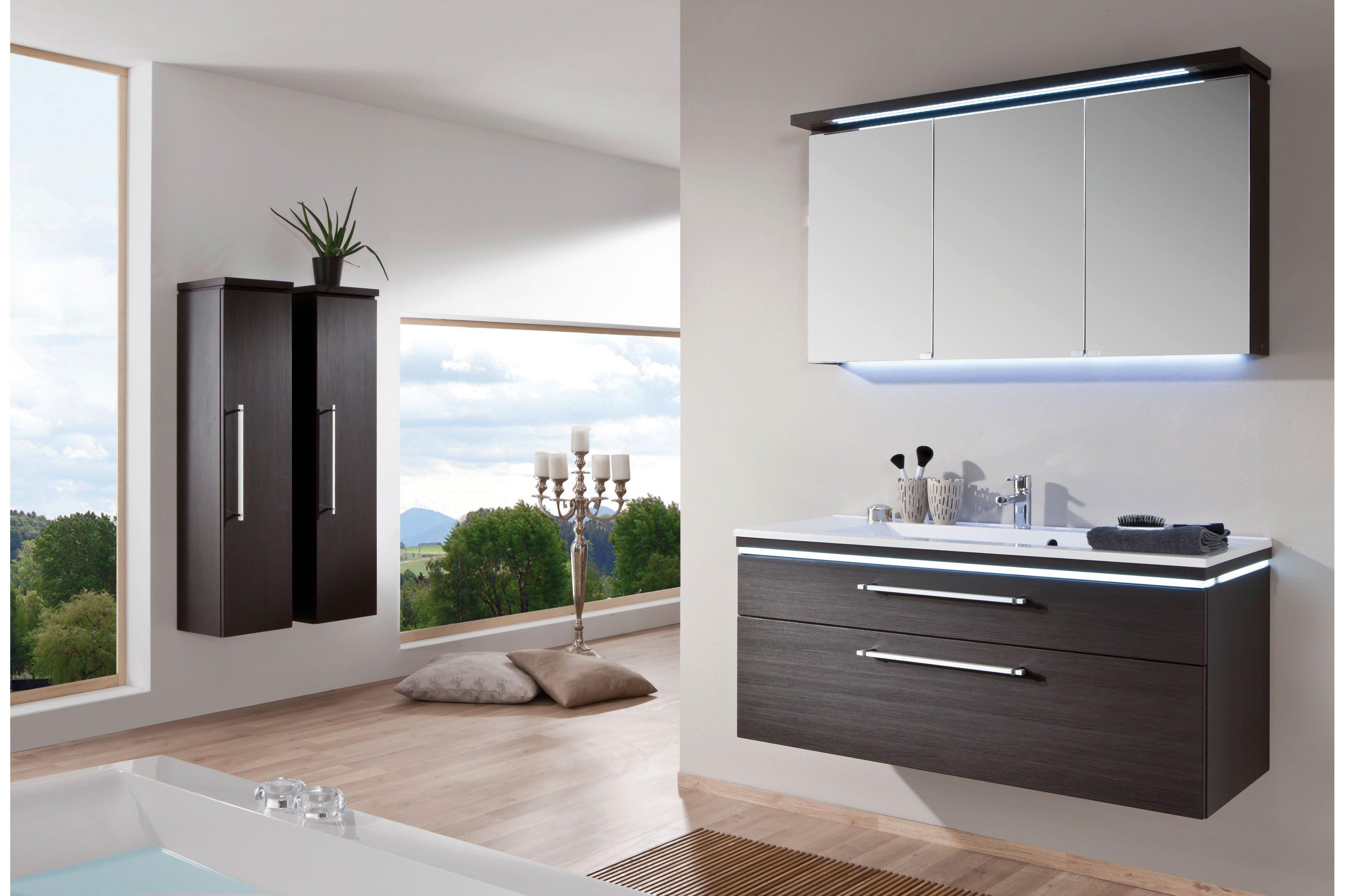 cool line in hacienda schwarz badezimmer von puris m bel letz ihr online shop. Black Bedroom Furniture Sets. Home Design Ideas