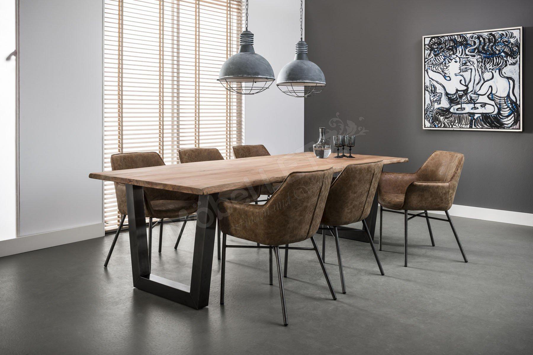 zijlstra tisch janneke aus akazie natur m bel letz ihr online shop. Black Bedroom Furniture Sets. Home Design Ideas