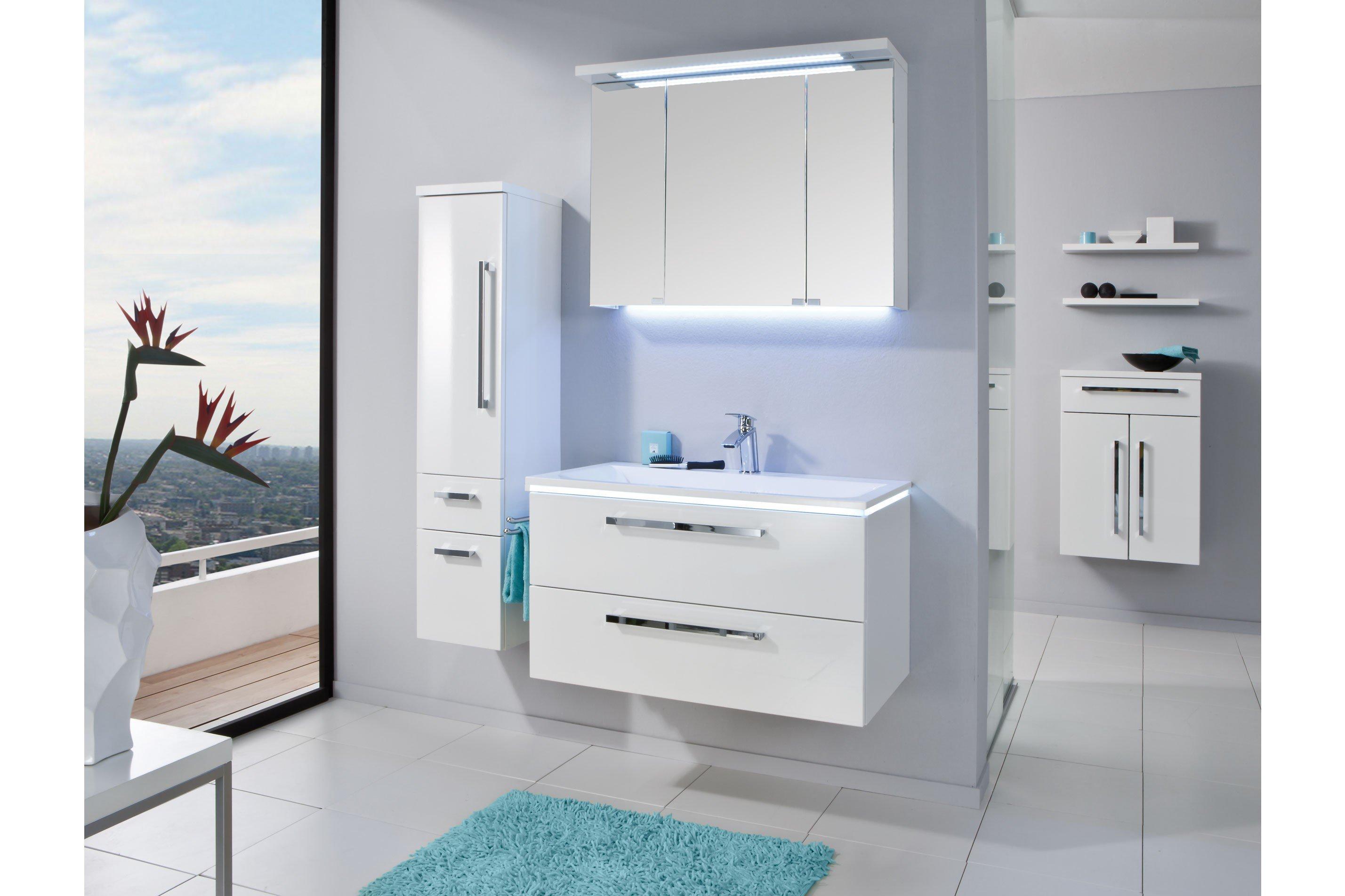 badezimmer star line in polarwei hochglanz puris m bel letz ihr online shop. Black Bedroom Furniture Sets. Home Design Ideas