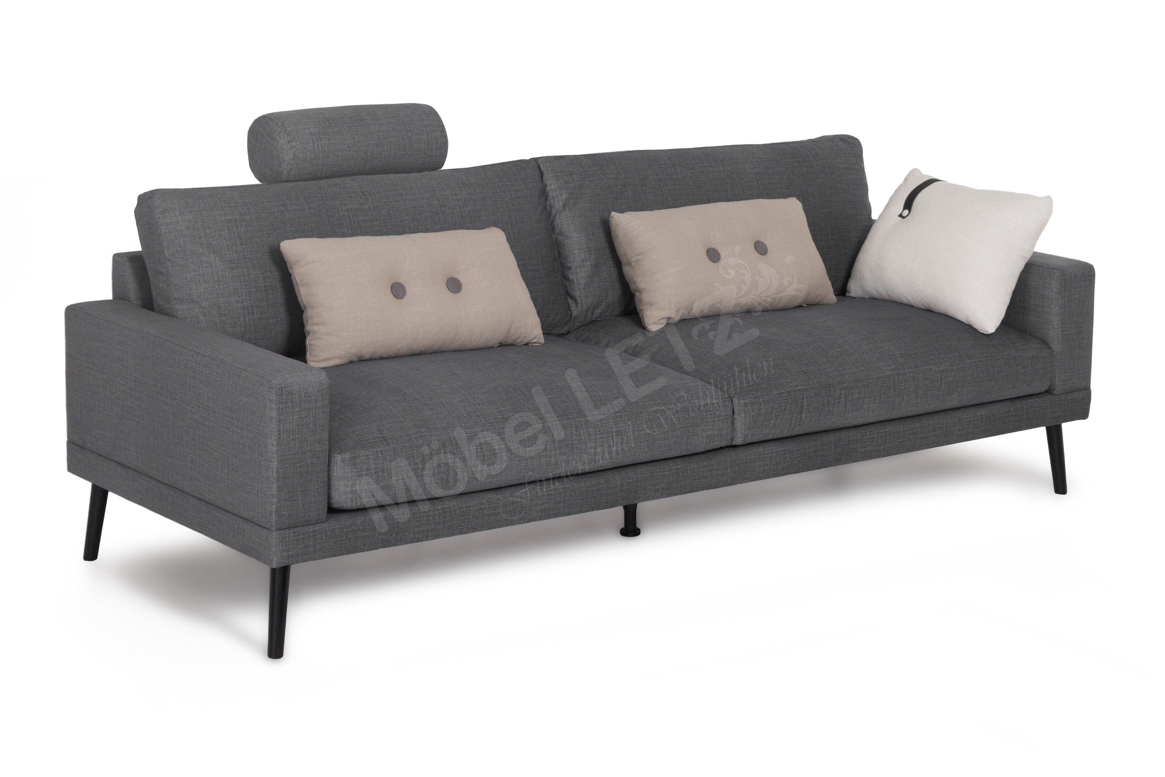 Skandinavische Möbel Davin Einzelsofa In Grau