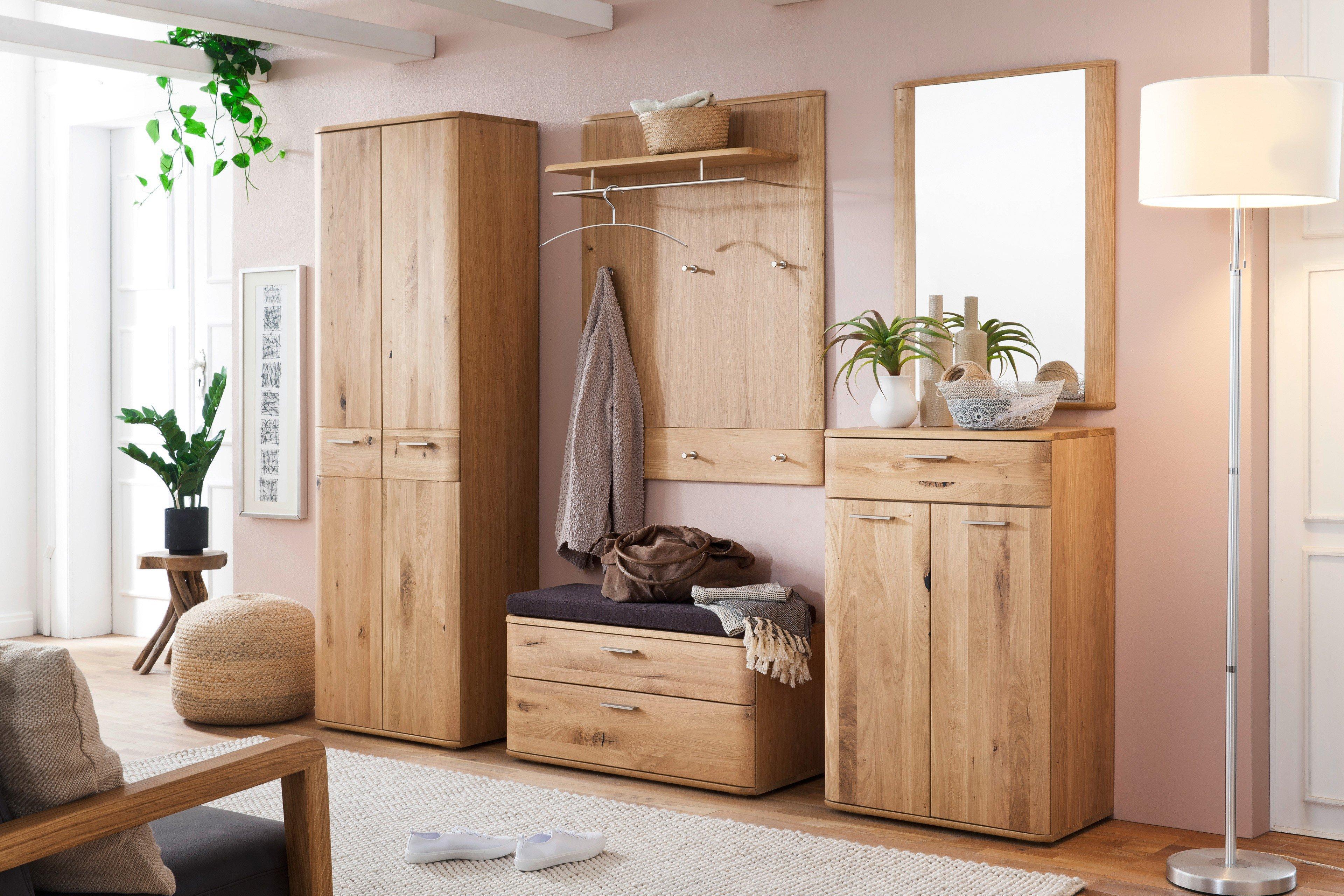 garderobe nilo in balkeneiche bianco mca furniture m bel letz ihr online shop. Black Bedroom Furniture Sets. Home Design Ideas