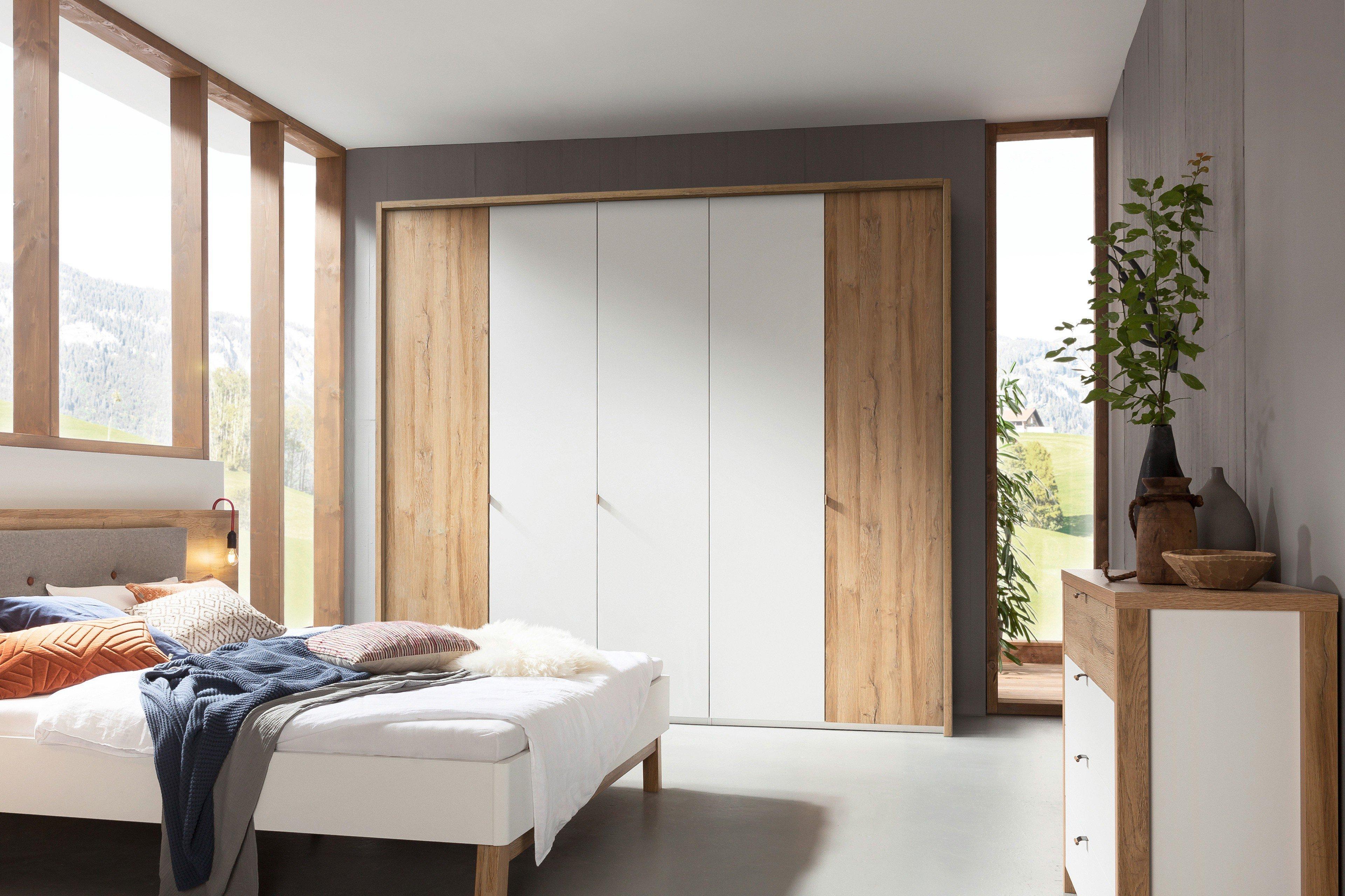 Großartig Kleiderschrank 250 Breit Das Beste Von Cepina Von Nolte - Schrank Planked Oak-weiß