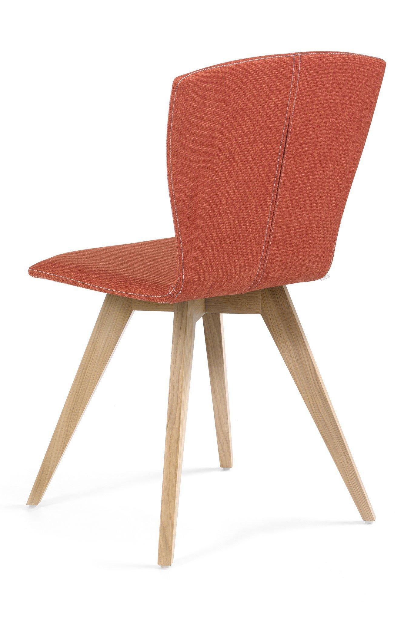 mobitec stuhl mood 21 uni eiche orange m bel letz ihr online shop. Black Bedroom Furniture Sets. Home Design Ideas