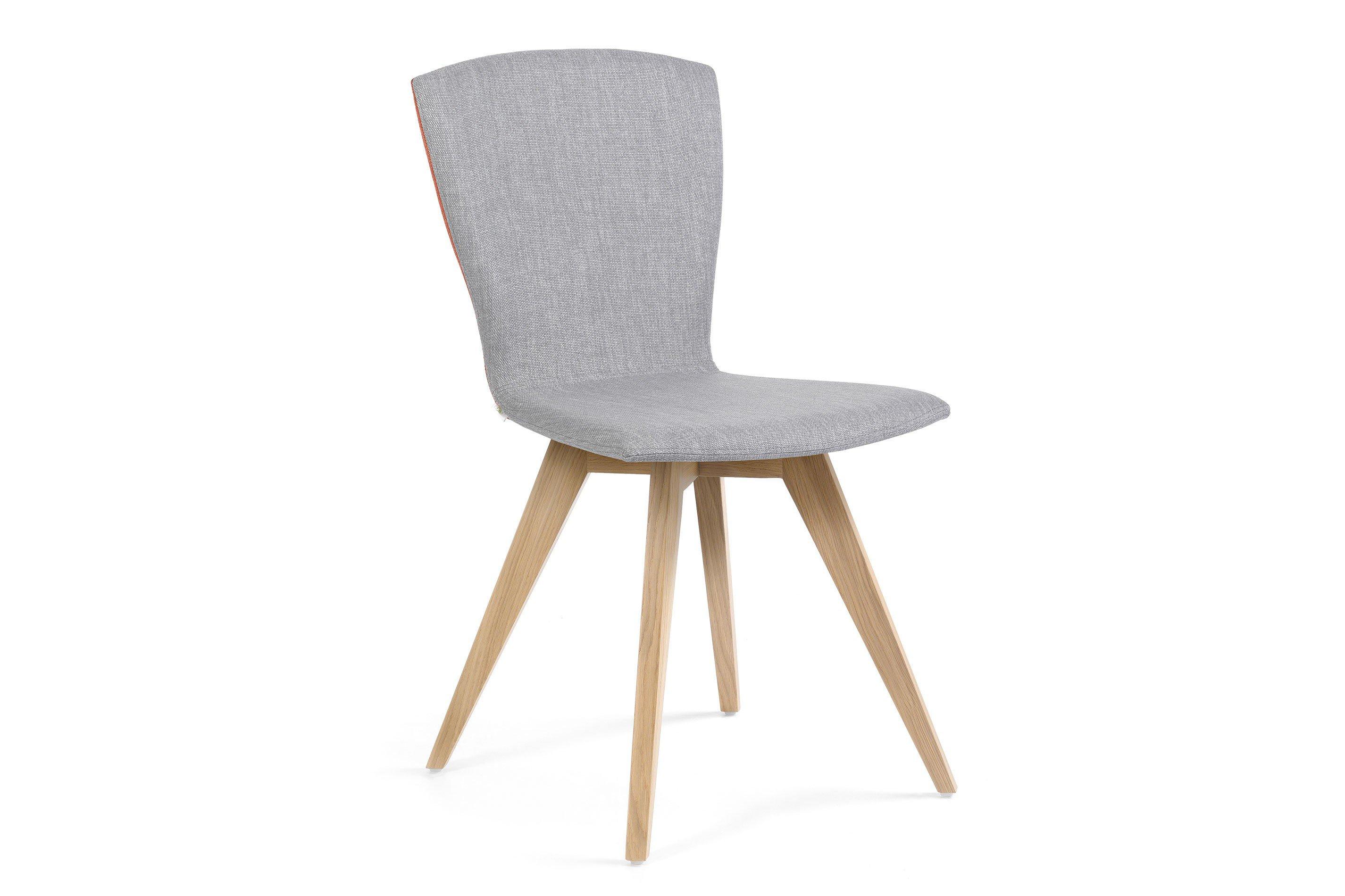 mobitec stuhl mood 21 bi zweifarbig eiche silver orange m bel letz ihr online shop. Black Bedroom Furniture Sets. Home Design Ideas