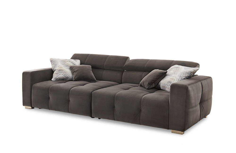 jockenh fer polsterm bel big sofa trento in grau m bel letz ihr online shop. Black Bedroom Furniture Sets. Home Design Ideas