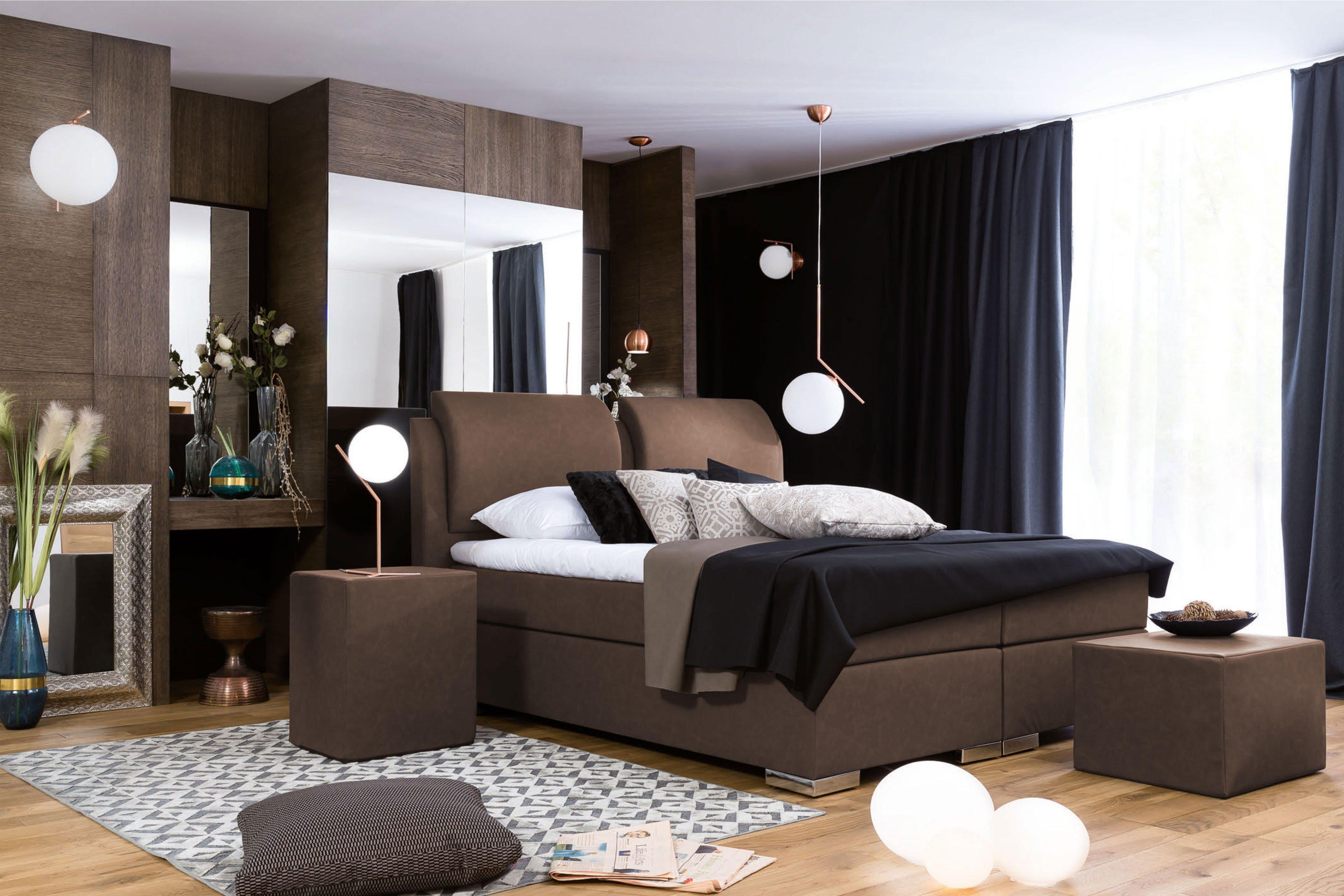 Dico Beverly Bs9010 Boxspringbett In Braun Mobel Letz Ihr Online Shop
