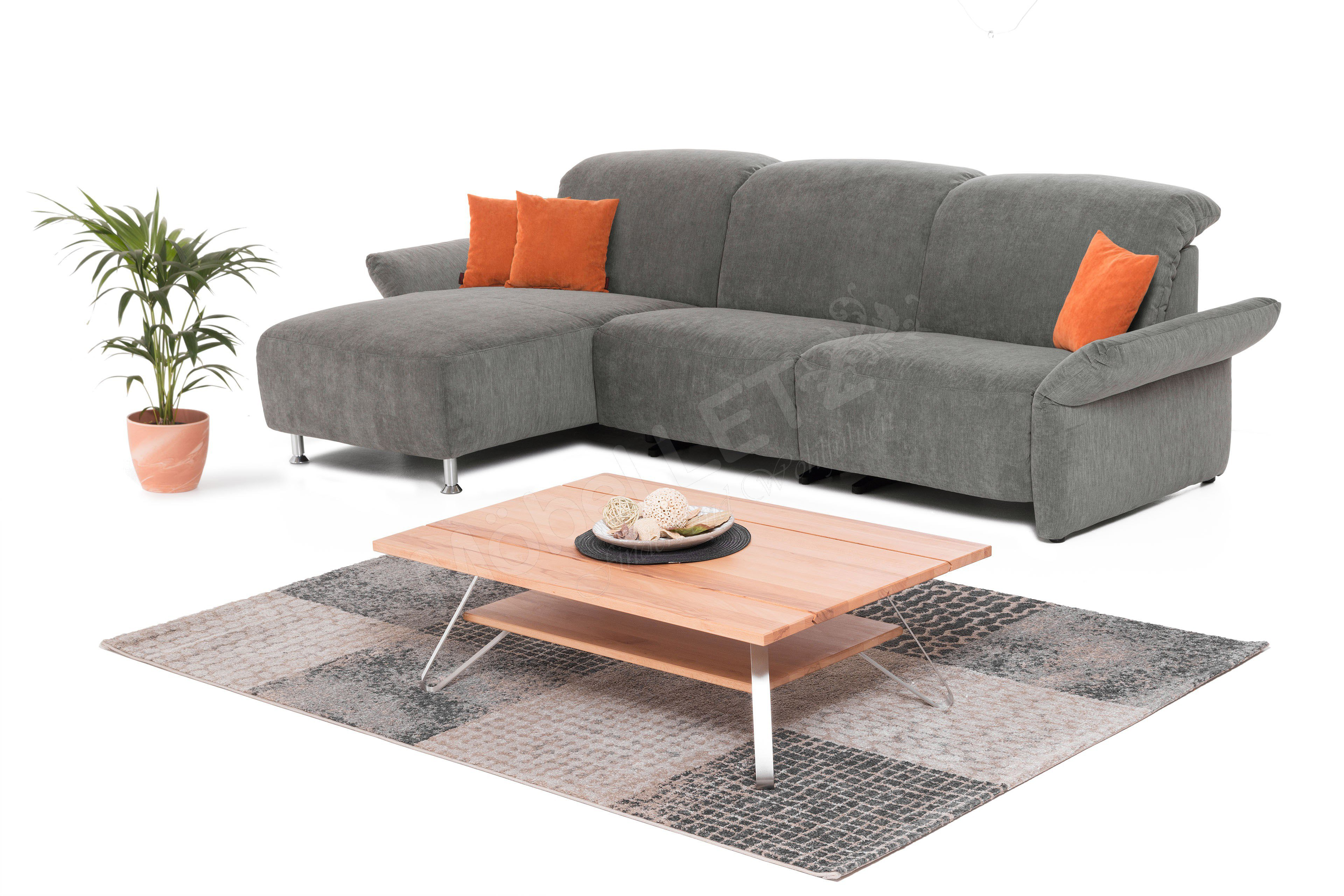 k w polsterm bel cindy eckgarnitur grau m bel letz ihr. Black Bedroom Furniture Sets. Home Design Ideas