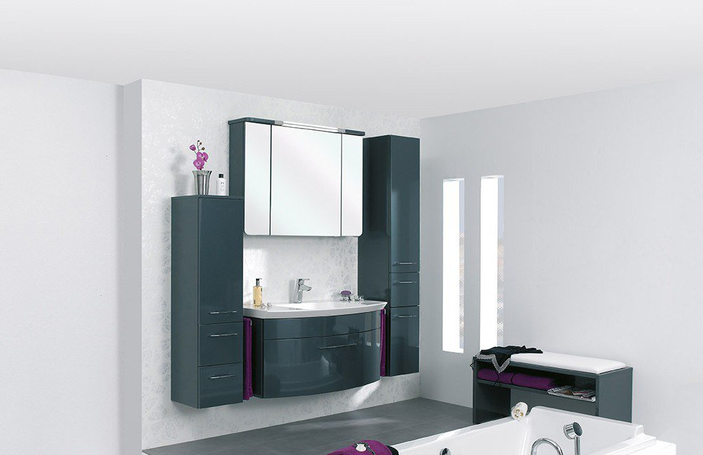 Badezimmer cassca tonia in anthrazit von pelipal m bel for Badezimmer anthrazit