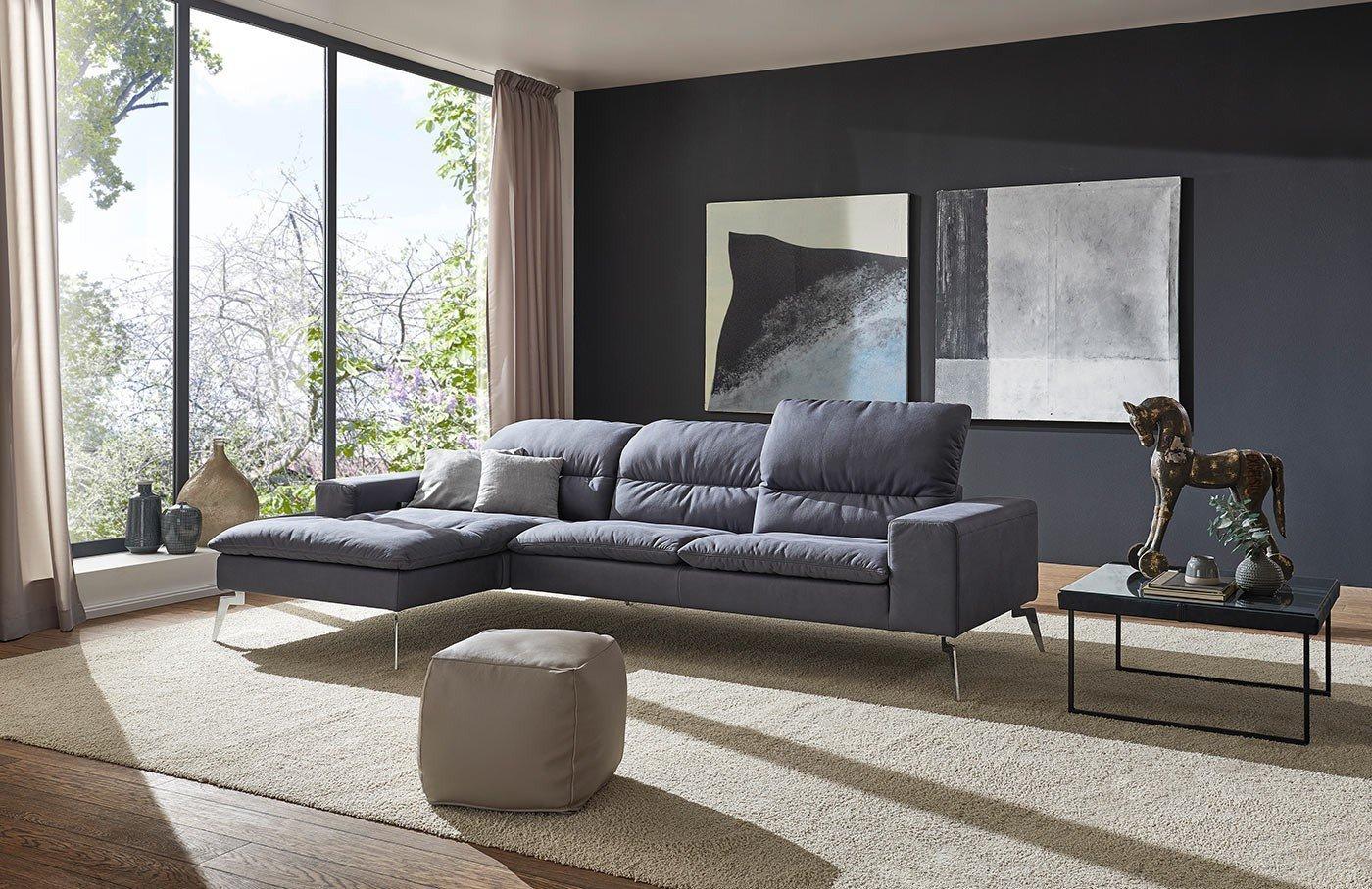 k w polsterm bel chinchilla 7279 eckgarnitur in blau m bel letz ihr online shop. Black Bedroom Furniture Sets. Home Design Ideas