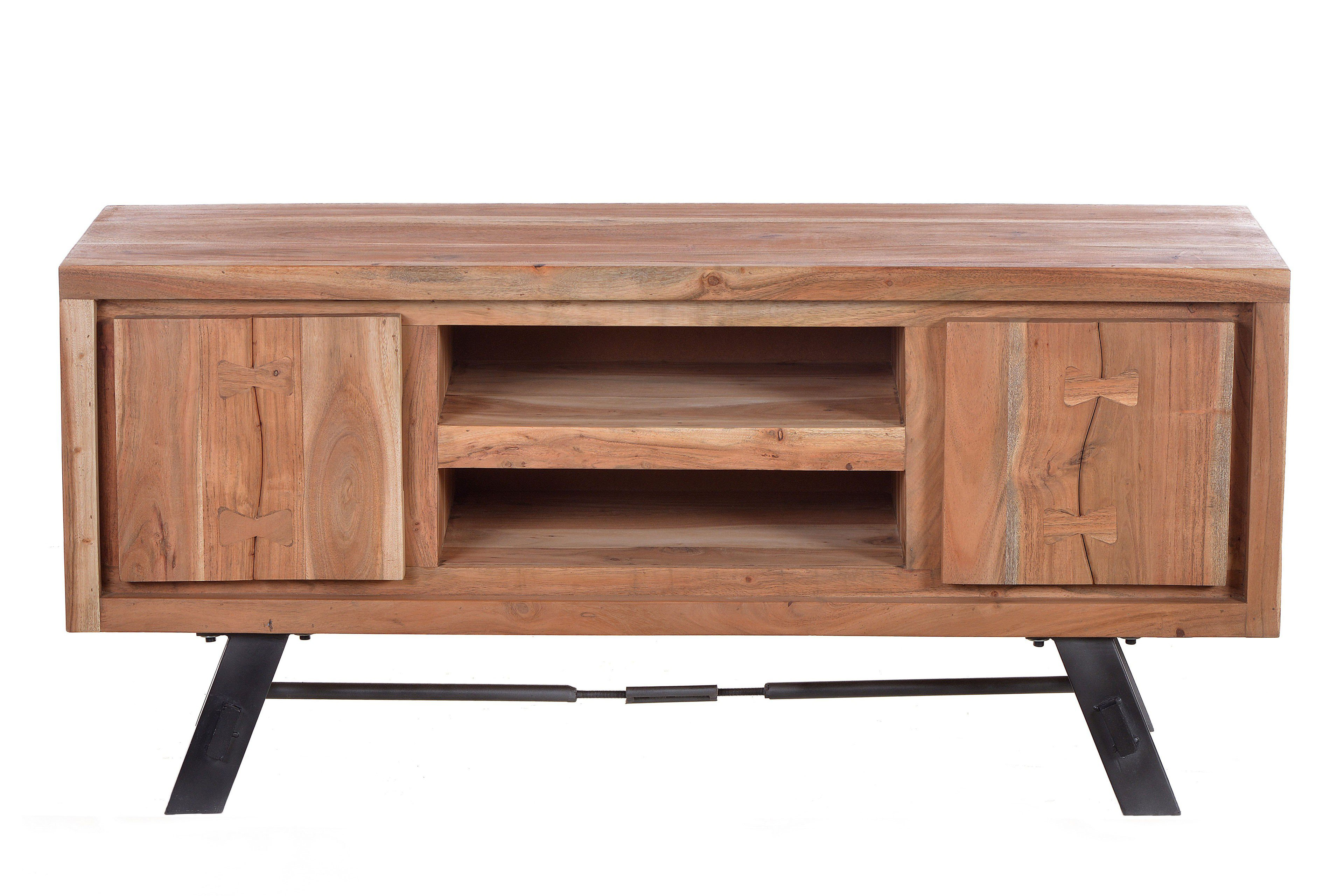 Sit Möbel Lowboard Edge Akazienholz Metall Möbel Letz Ihr