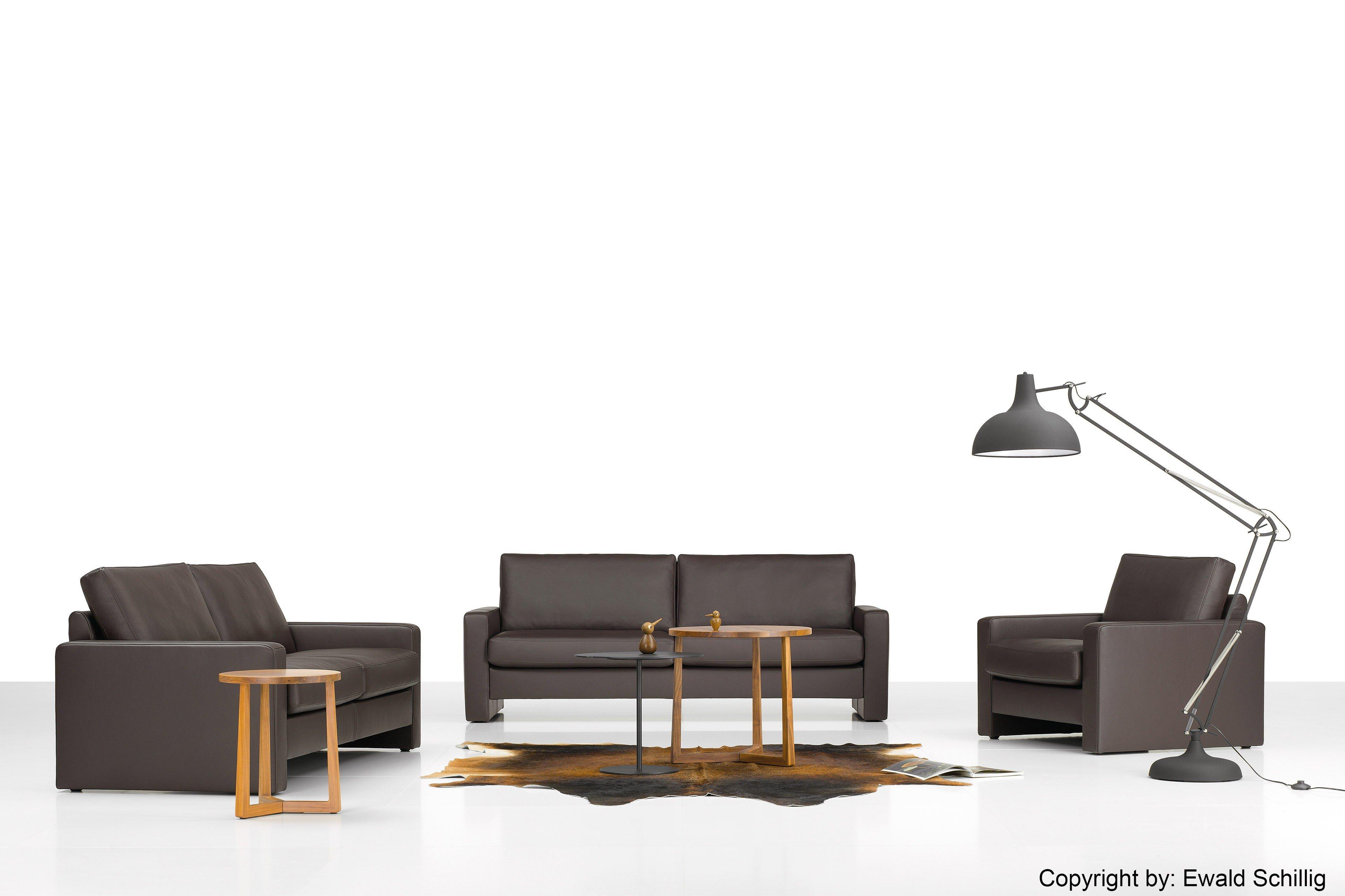 ewald schillig conceptplus ledergarnitur in braun m bel. Black Bedroom Furniture Sets. Home Design Ideas