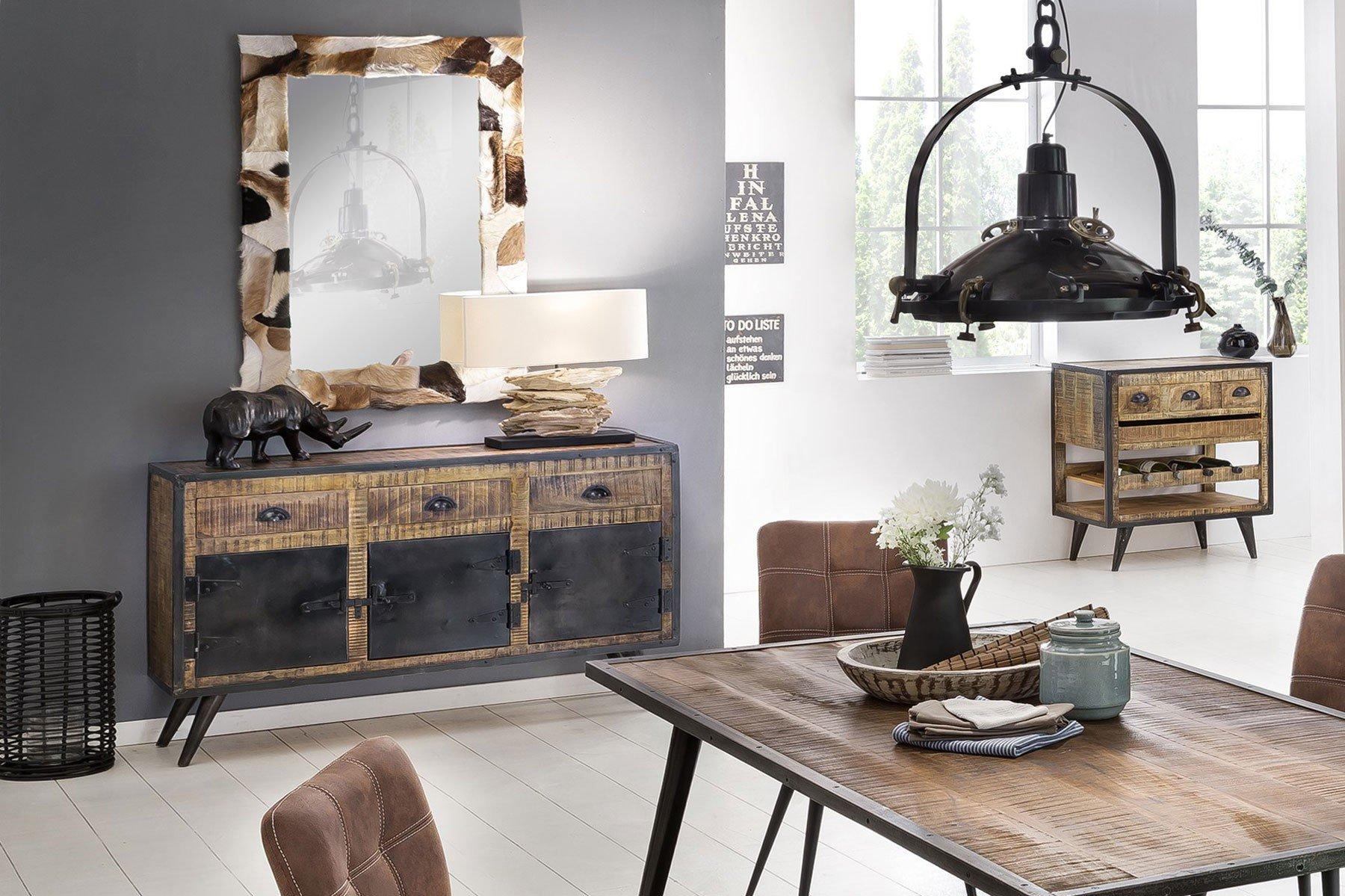 SIT Möbel Sideboard Iron Mangoholz/ Schmiedeeisen | Möbel Letz - Ihr ...