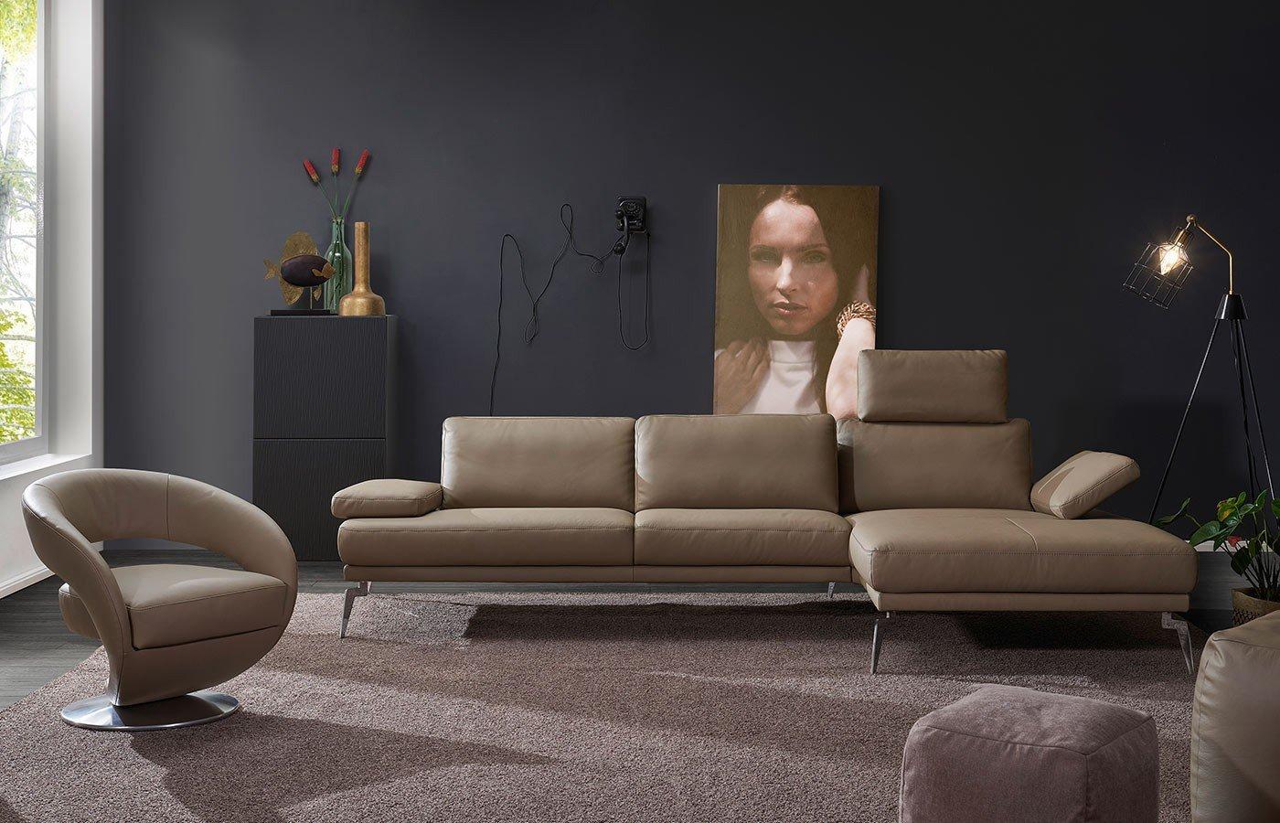 k w polsterm bel ontario 7283 polstergarnitur in beige m bel letz ihr online shop. Black Bedroom Furniture Sets. Home Design Ideas