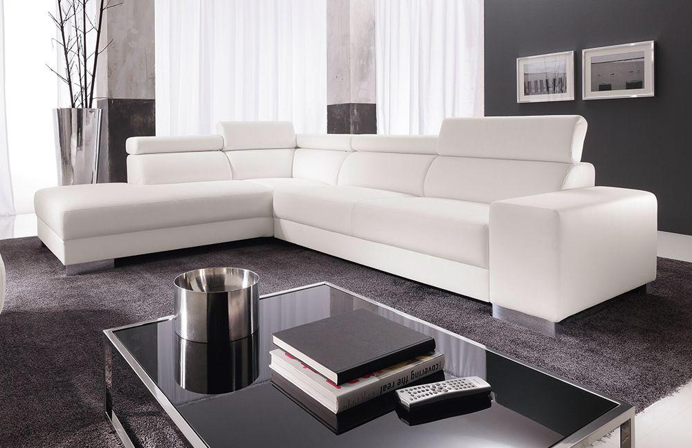 ecksofa fantasy wei von candy polsterm bel m bel letz ihr online shop. Black Bedroom Furniture Sets. Home Design Ideas