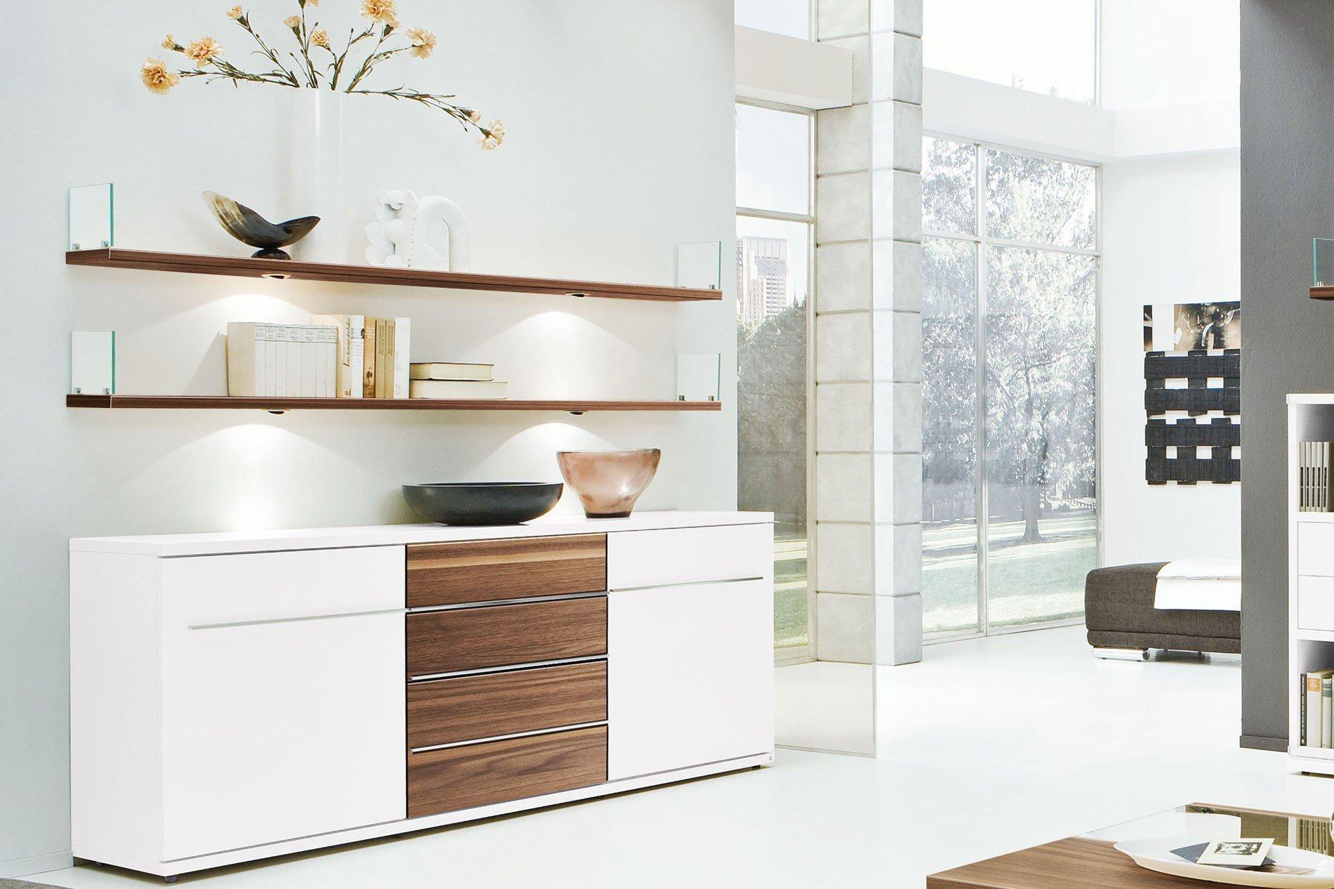loddenkemper sideboard kito wei caruba nuss m bel letz. Black Bedroom Furniture Sets. Home Design Ideas