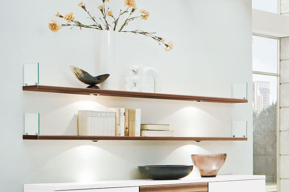 Amazing Kito Von Loddenkemper   Sideboard Weiß/ Caruba Nuss Nice Look