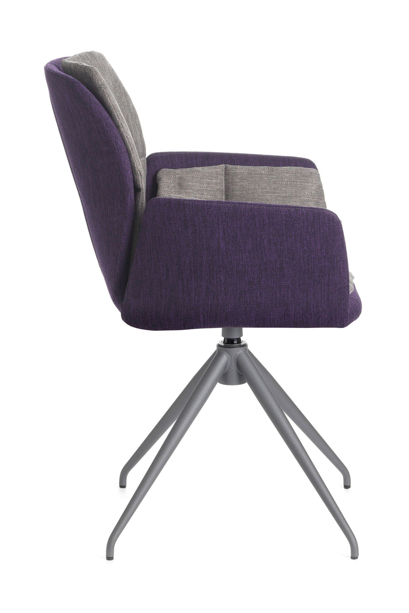 mobitec stuhl mood 96 uni metall grey lila drehbar m bel letz ihr online shop. Black Bedroom Furniture Sets. Home Design Ideas
