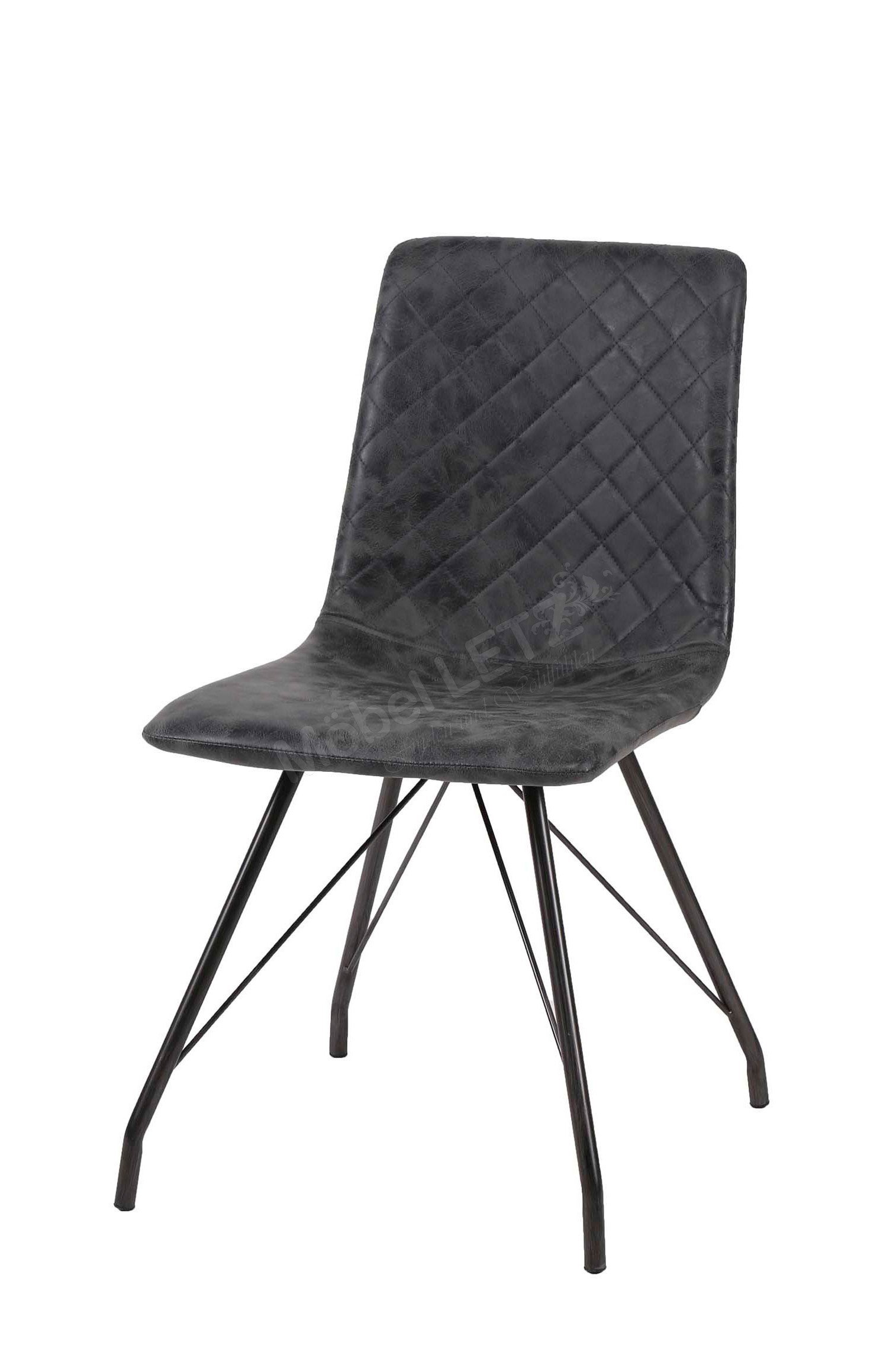 zijlstra stuhl laurens mit schwarzem gestell m bel letz ihr online shop. Black Bedroom Furniture Sets. Home Design Ideas