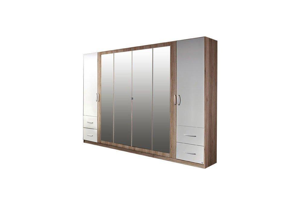 rauch neustadt extra kleiderschrank mit spiegel m bel letz ihr online shop. Black Bedroom Furniture Sets. Home Design Ideas
