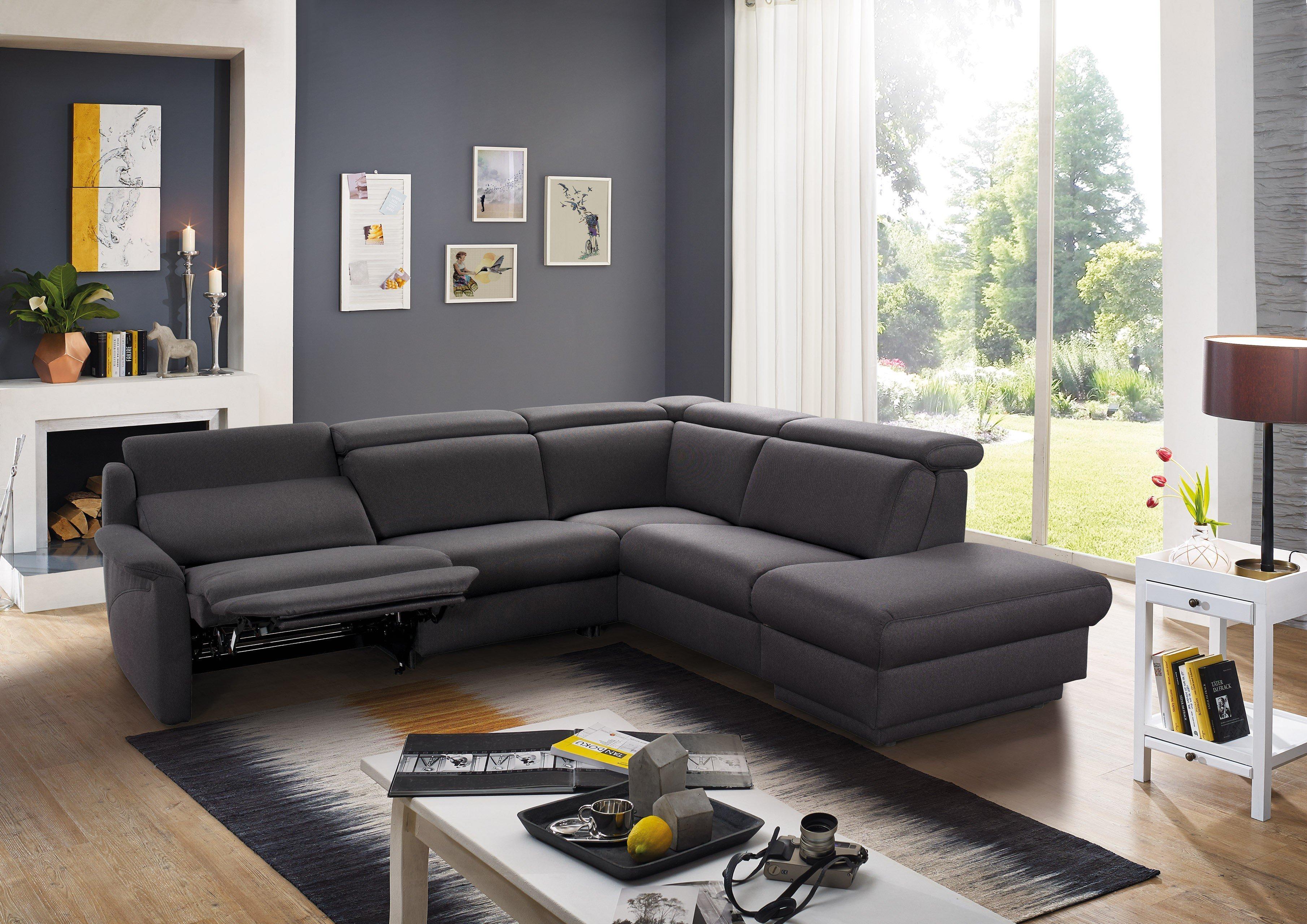 himolla polsterm bel 9701 polsterecke in grau m bel letz. Black Bedroom Furniture Sets. Home Design Ideas