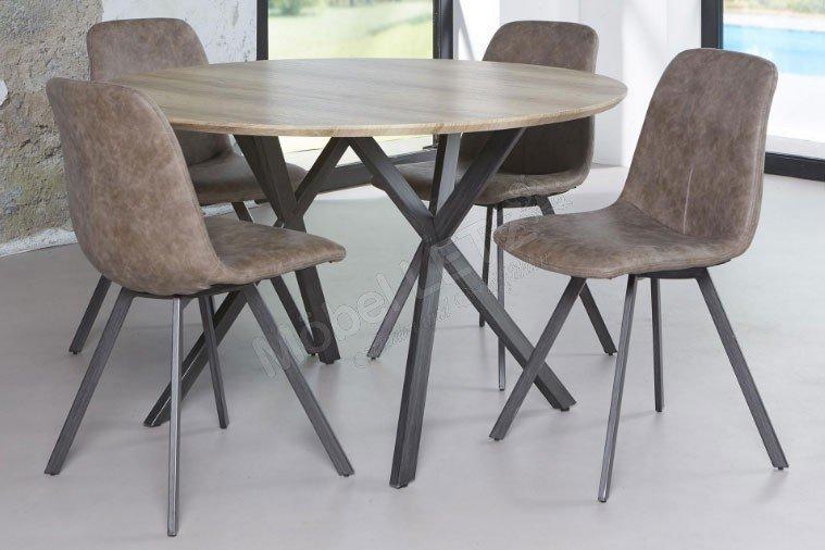 Design möbel stahl  Zijlstra Tisch Annik Eichen-Nachbildung/ Stahl   Möbel Letz - Ihr ...