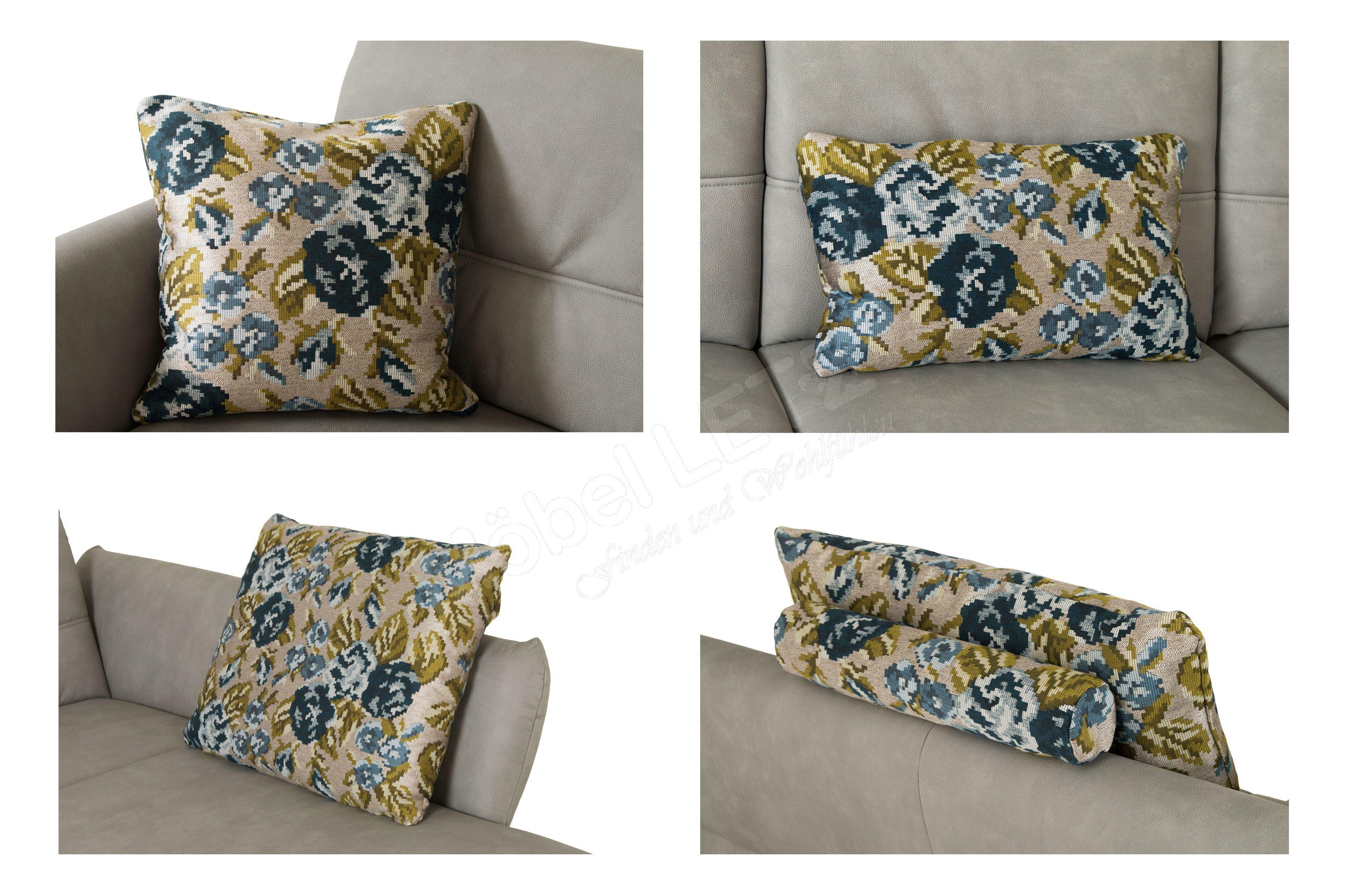 f s polsterm bel 306 mezzo ecksofa in grau m bel letz ihr online shop. Black Bedroom Furniture Sets. Home Design Ideas