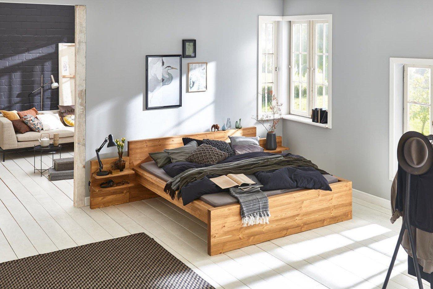 sc koks holzbett oslo holz fichte kiefer m bel letz ihr online shop. Black Bedroom Furniture Sets. Home Design Ideas
