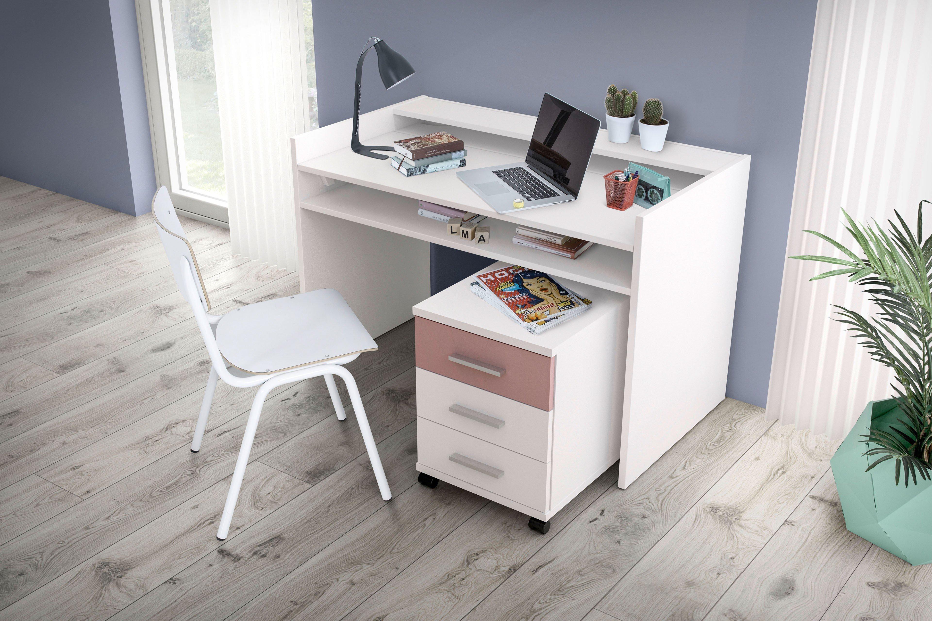 Röhr-Bush pixxel Schreibtisch mit Funktion - weiß   Möbel Letz - Ihr ...