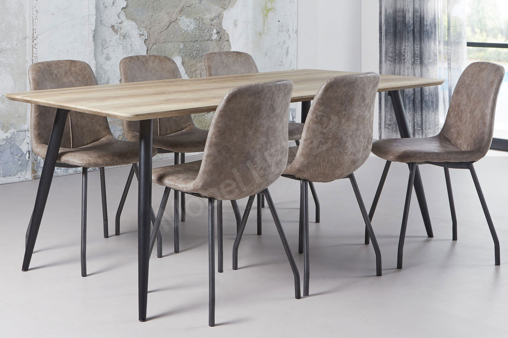 Zijlstra Tisch Femke Eiche/ Stahl | Möbel Letz - Ihr Online-Shop