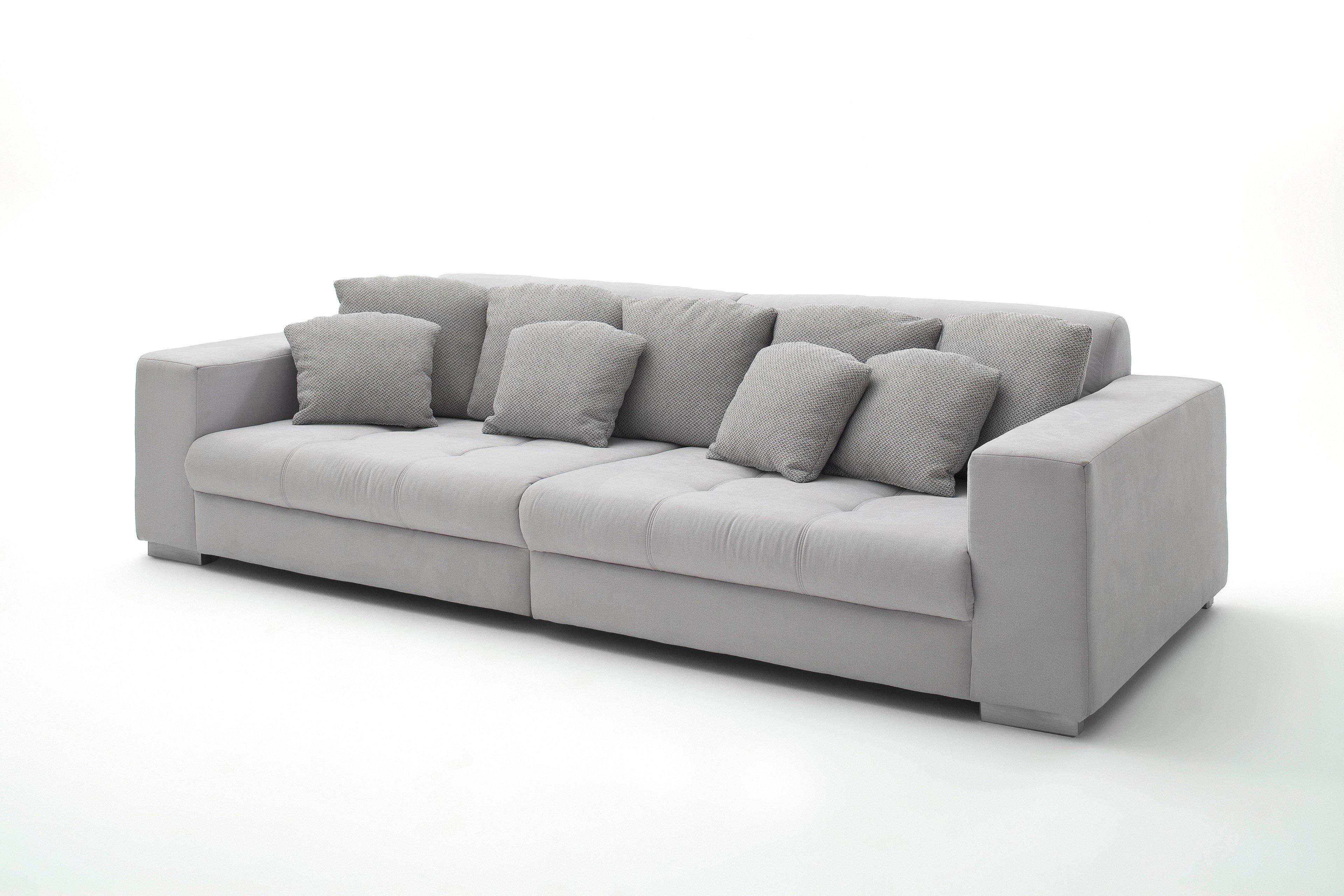 Reality Ontario Big-Sofa in Silber | Möbel Letz - Ihr Online-Shop
