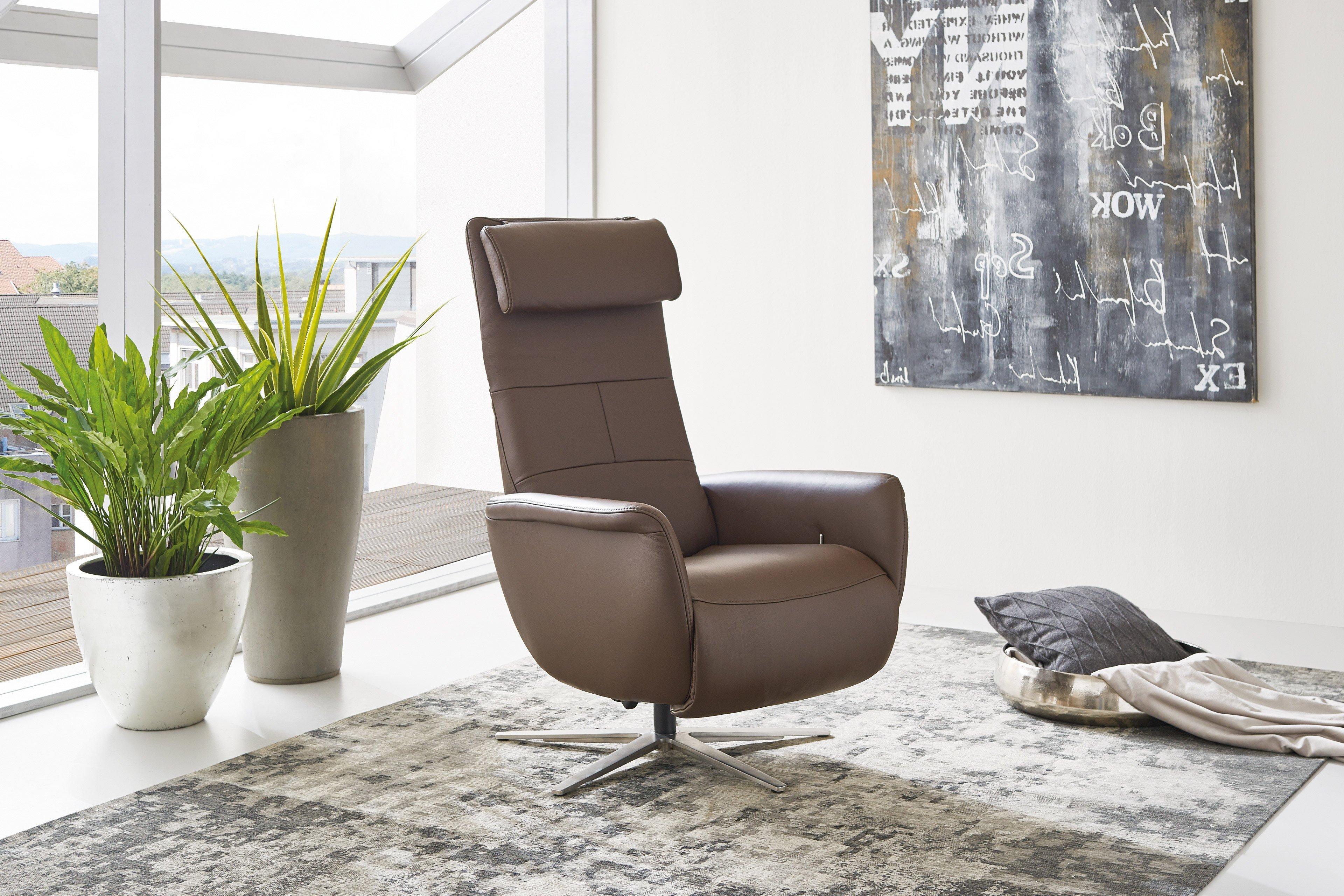 hukla lc02 funktionssessel in braun m bel letz ihr. Black Bedroom Furniture Sets. Home Design Ideas