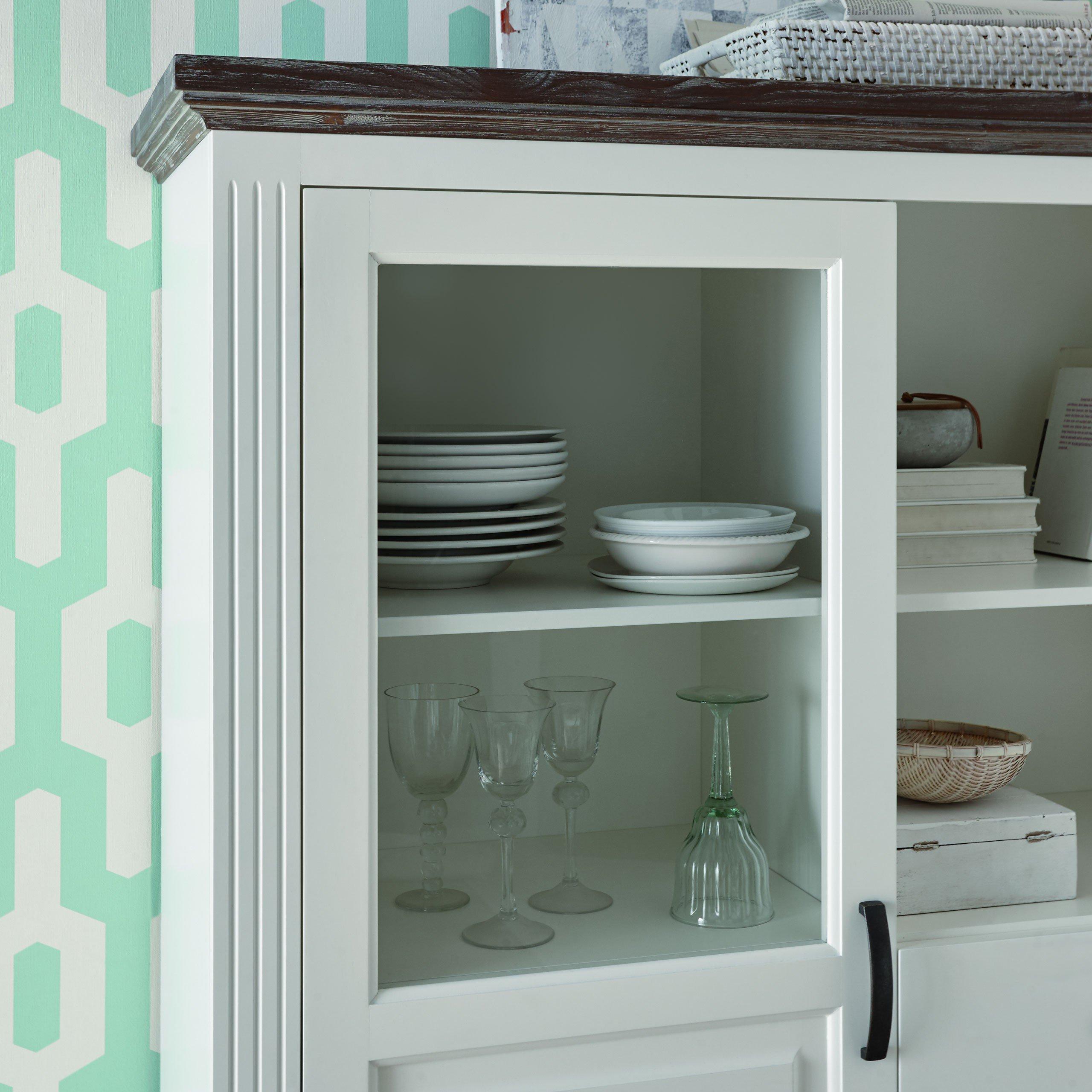 Highboard Celina von Casada in Weiß | Möbel Letz - Ihr Online-Shop