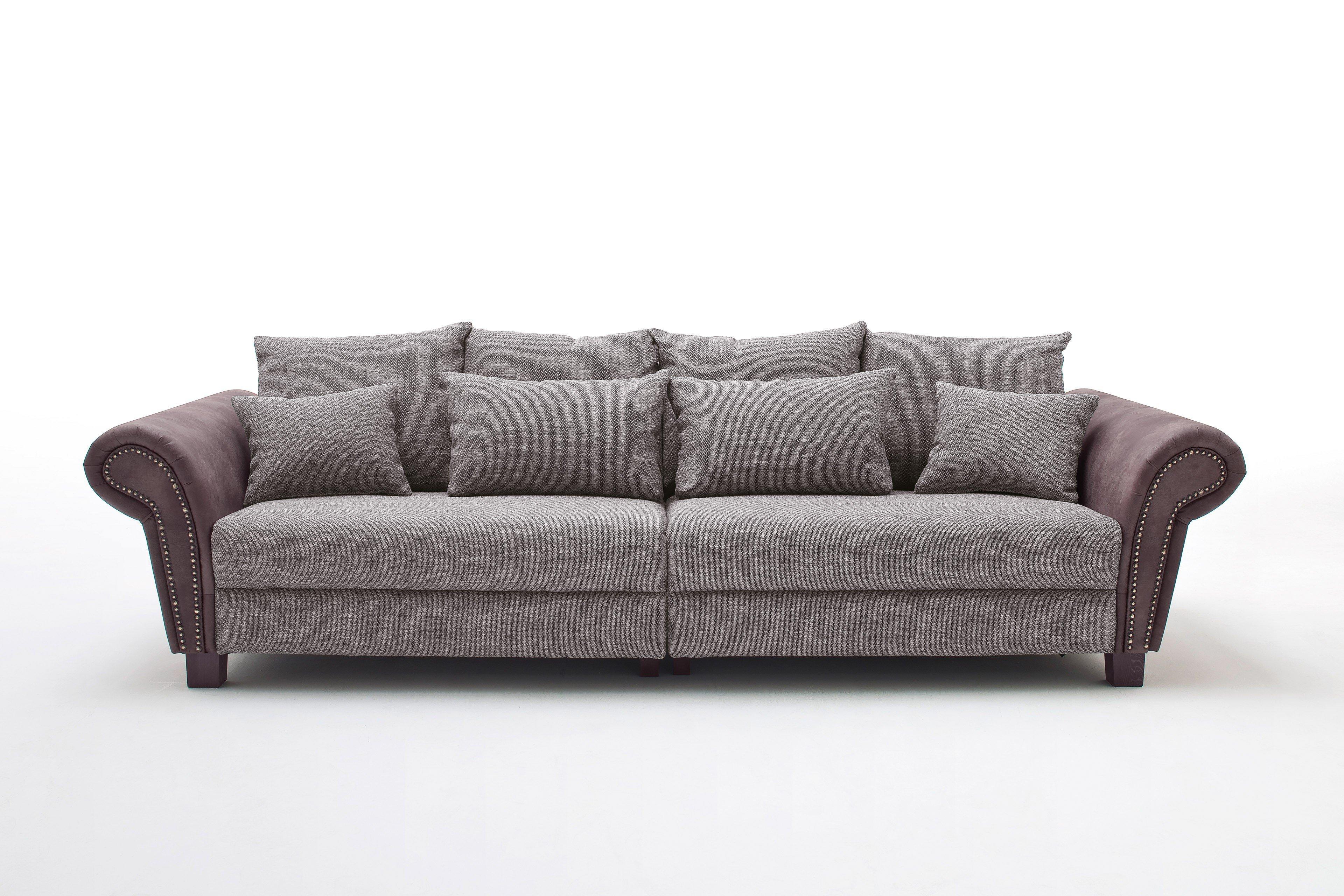 Megasofa grau  Reality Sheffield Megasofa grau-braun | Möbel Letz - Ihr Online-Shop