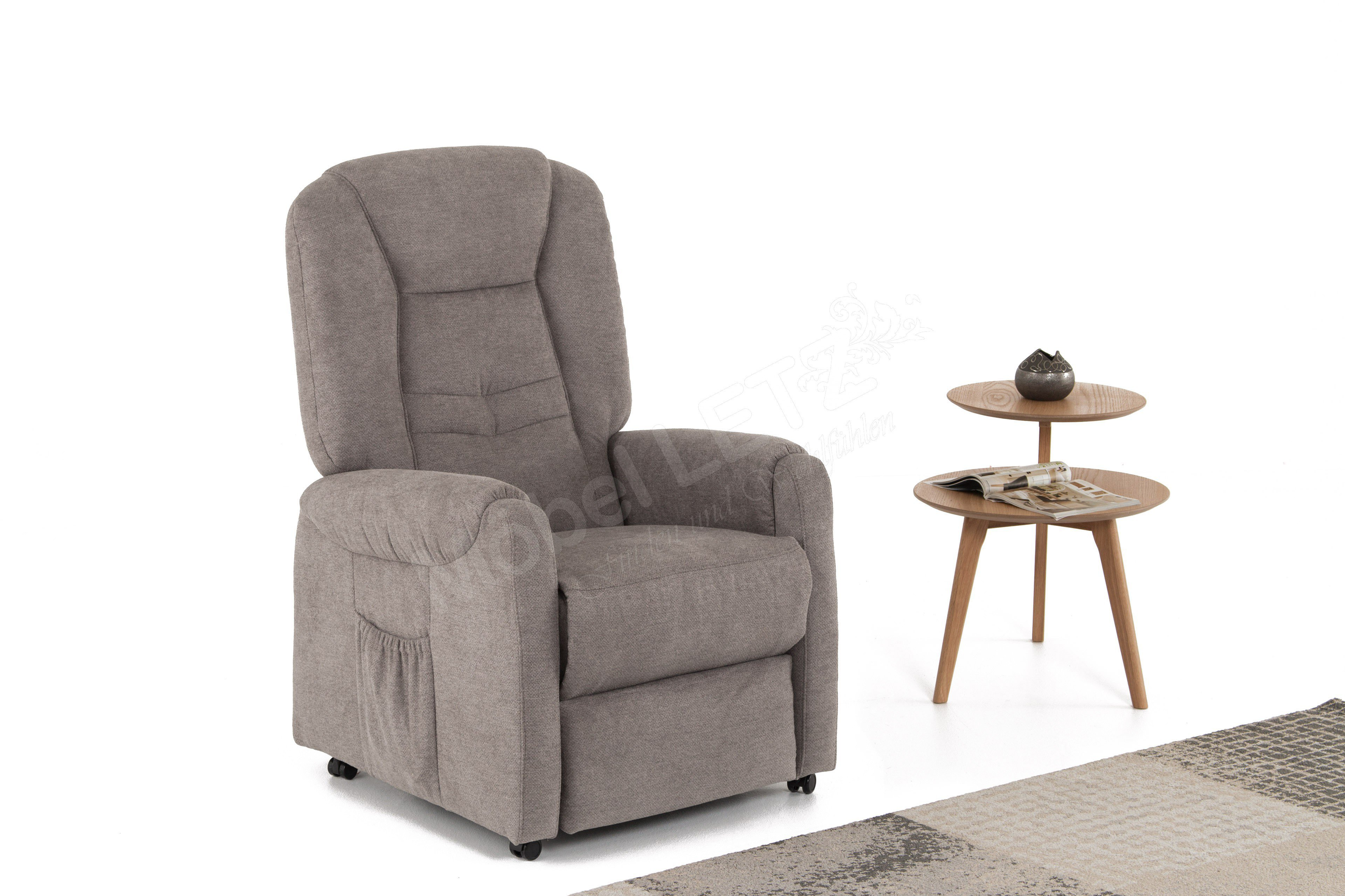 fernsehsessel hendrik s basic braun von polsteria m bel letz ihr online shop. Black Bedroom Furniture Sets. Home Design Ideas