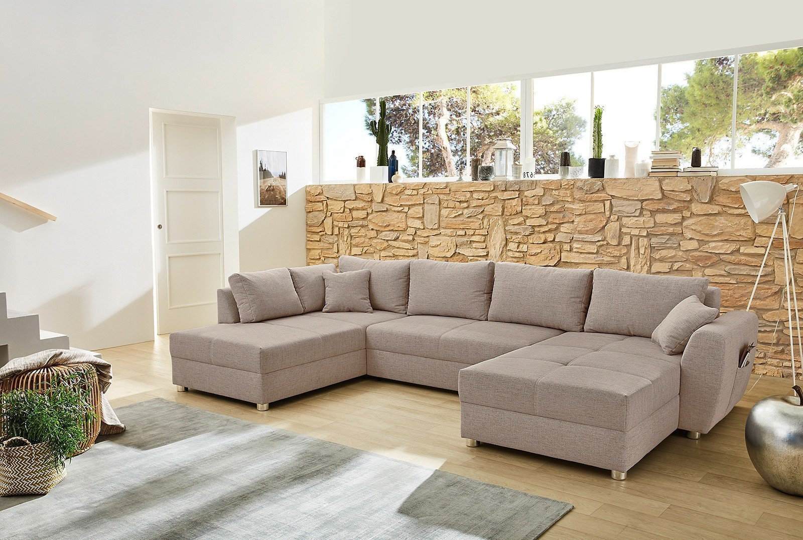 jockenh fer polsterm bel starnberg sofa beige m bel letz. Black Bedroom Furniture Sets. Home Design Ideas