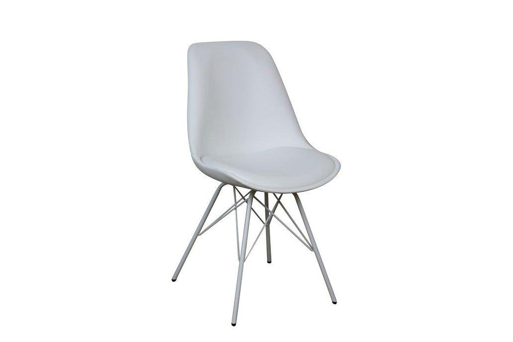 Stuhl Oslo In Weiß Metall Von Massivdirekt Möbel Letz Ihr