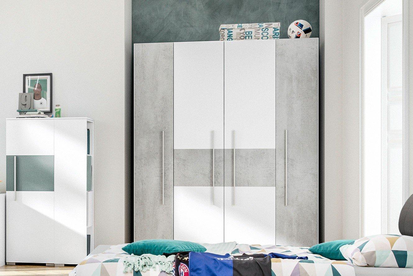 pixxel Schrank Beton-Optik von Röhr-Bush   Möbel Letz - Ihr Online-Shop