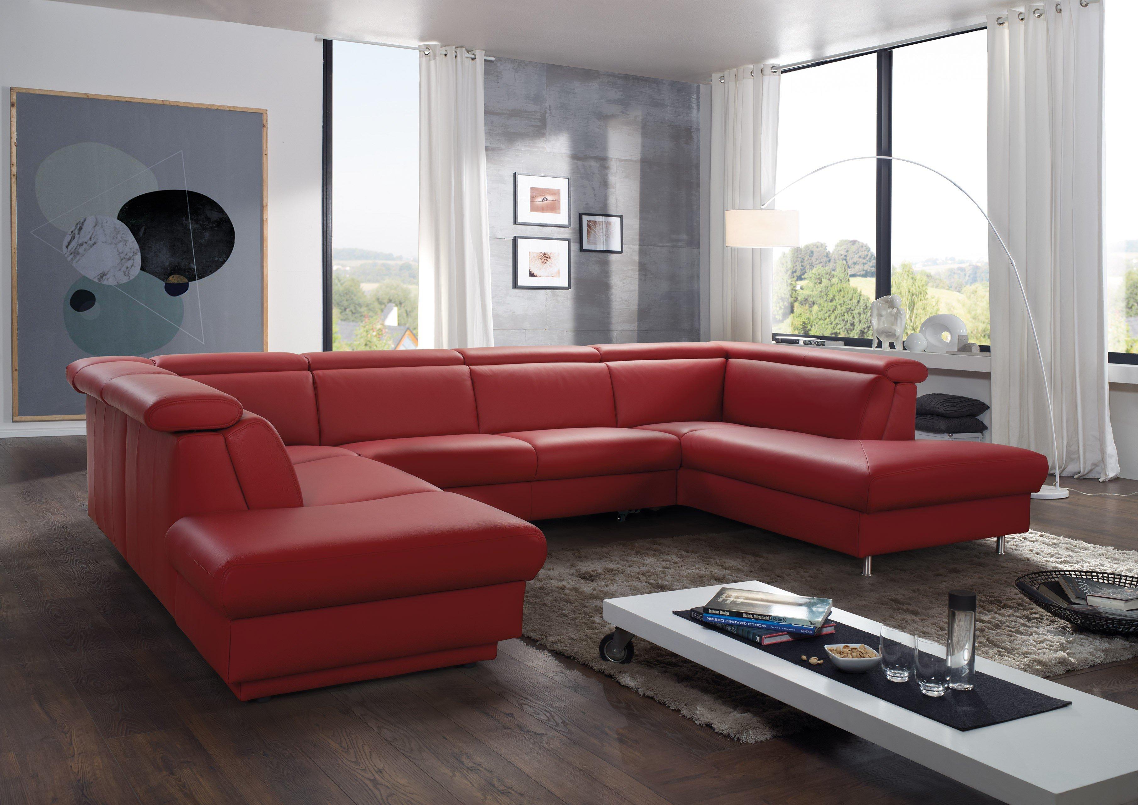 Chili Möbel himolla polstermöbel 9701 wohnlandschaft in rot möbel letz ihr