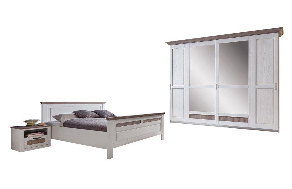 Komplett schlafzimmer telmex lugano wei m bel letz ihr online shop - Schlafzimmer pinie ...